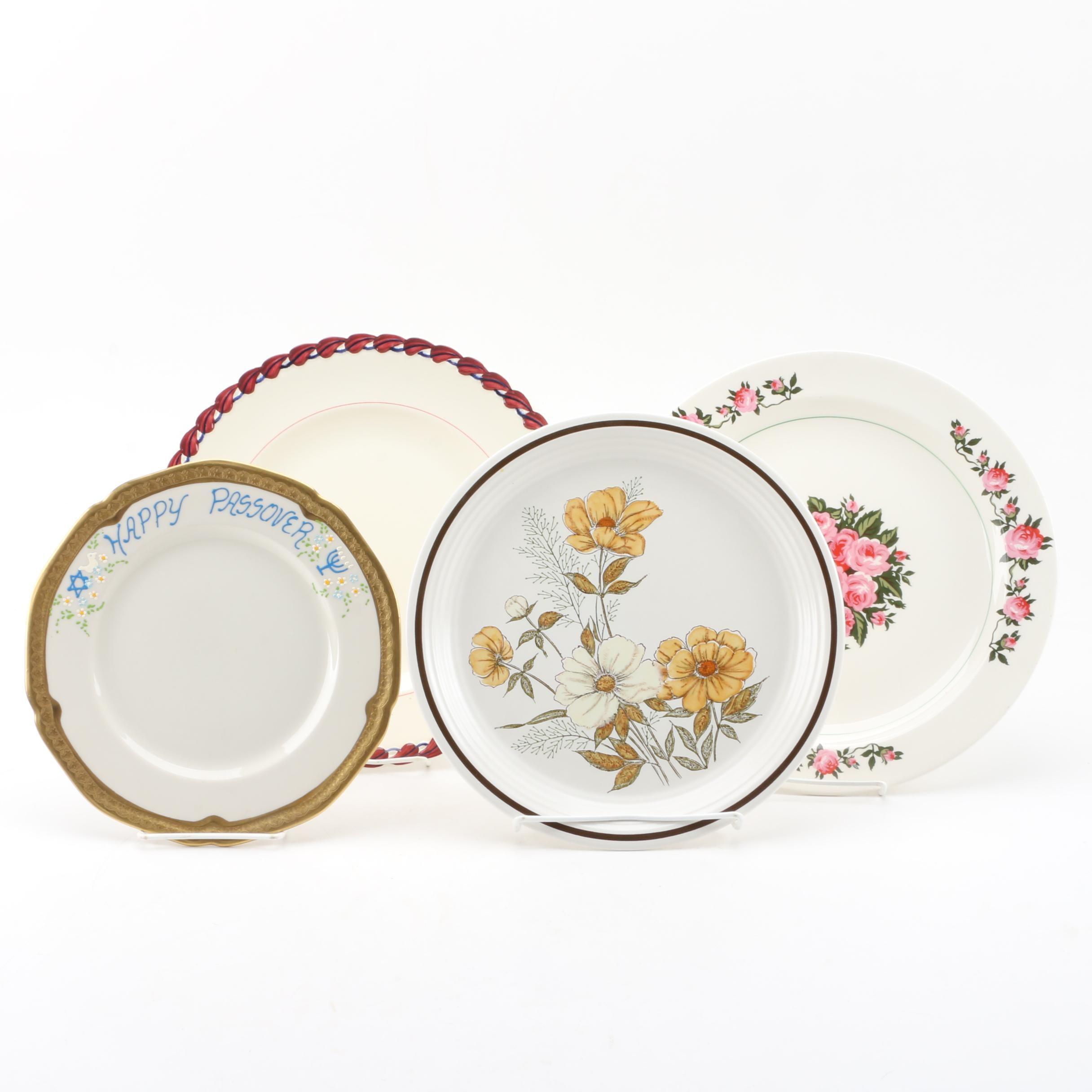 Four Decorative Ceramic Plates