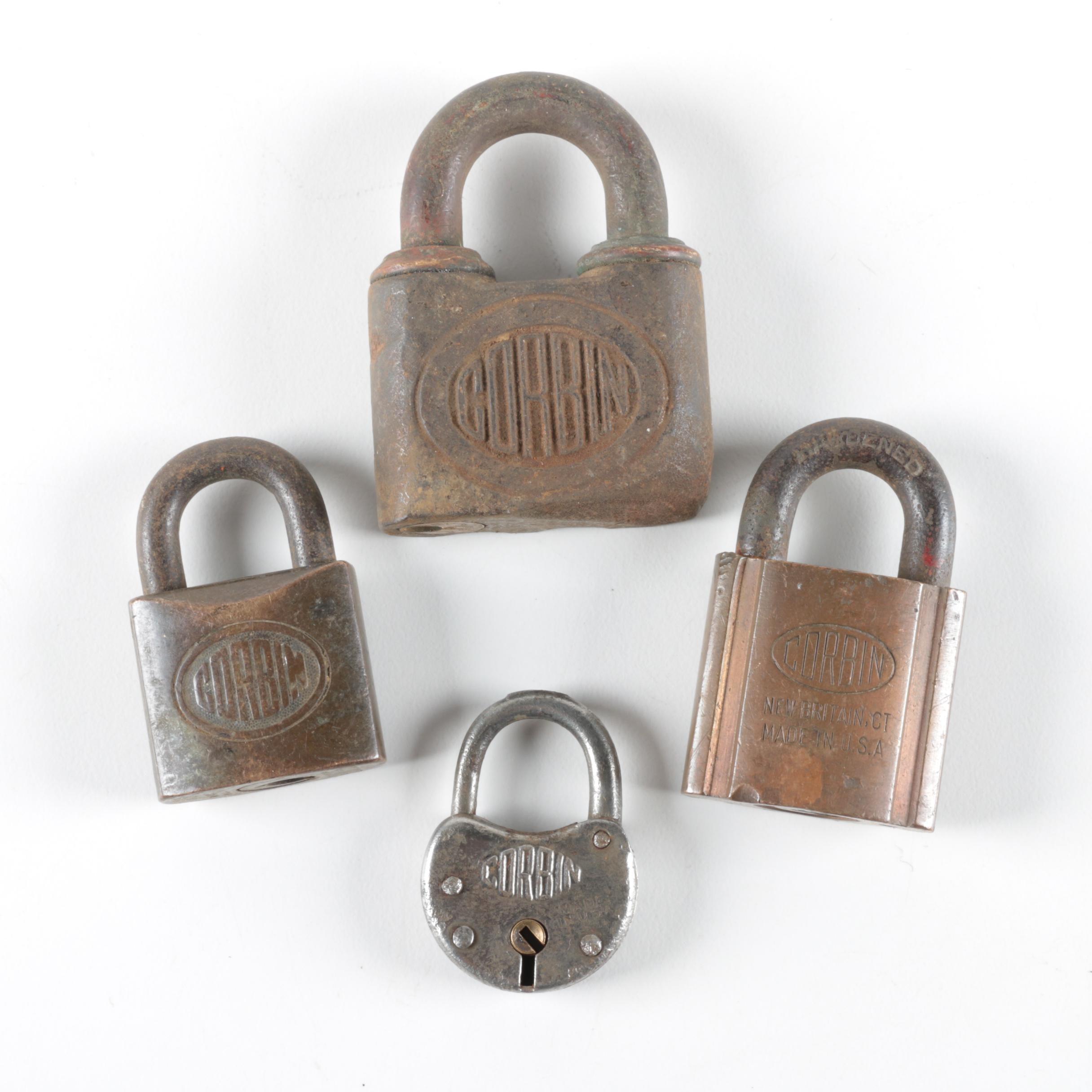 Vintage Corbin Locks
