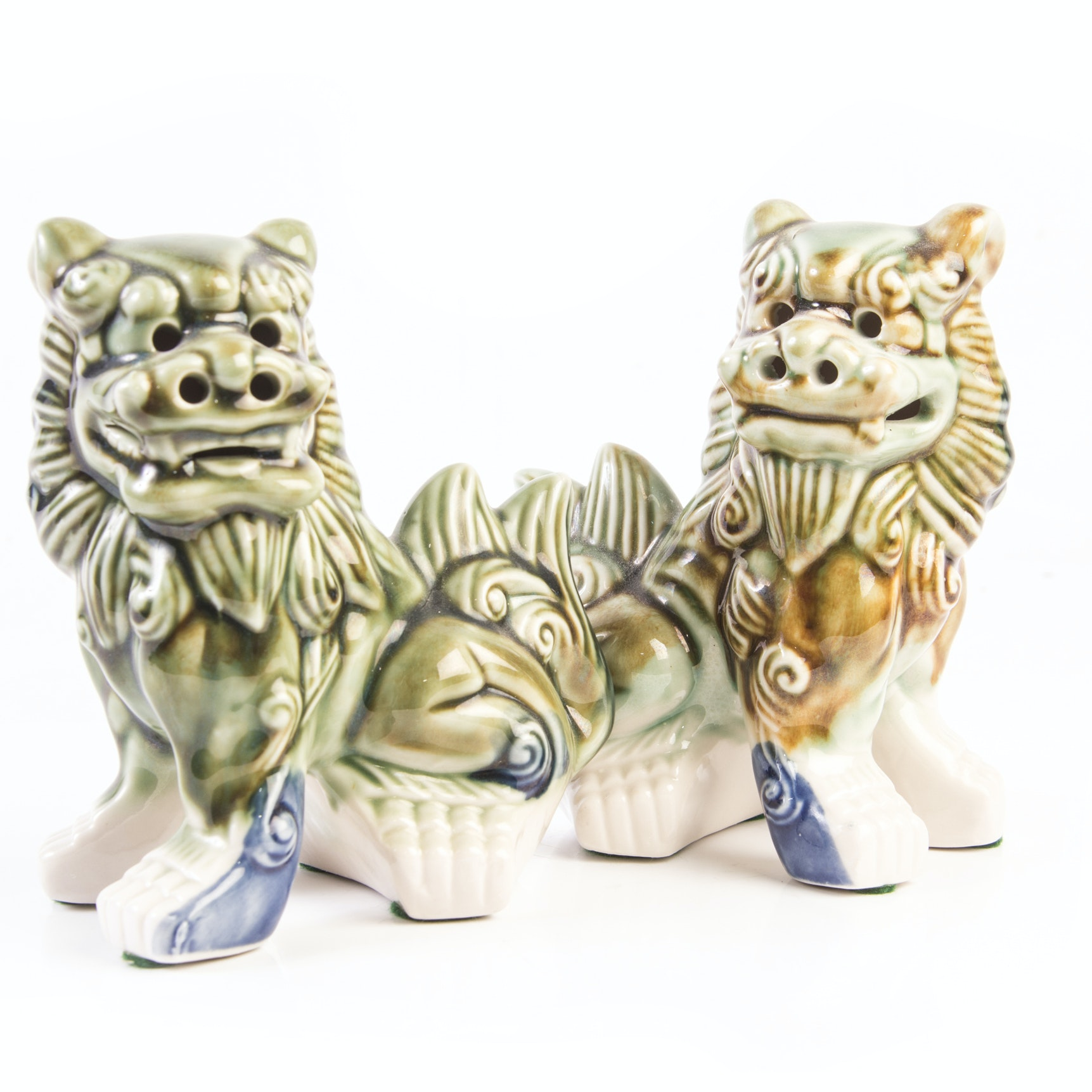 Chinese Guardian Lions Figurines
