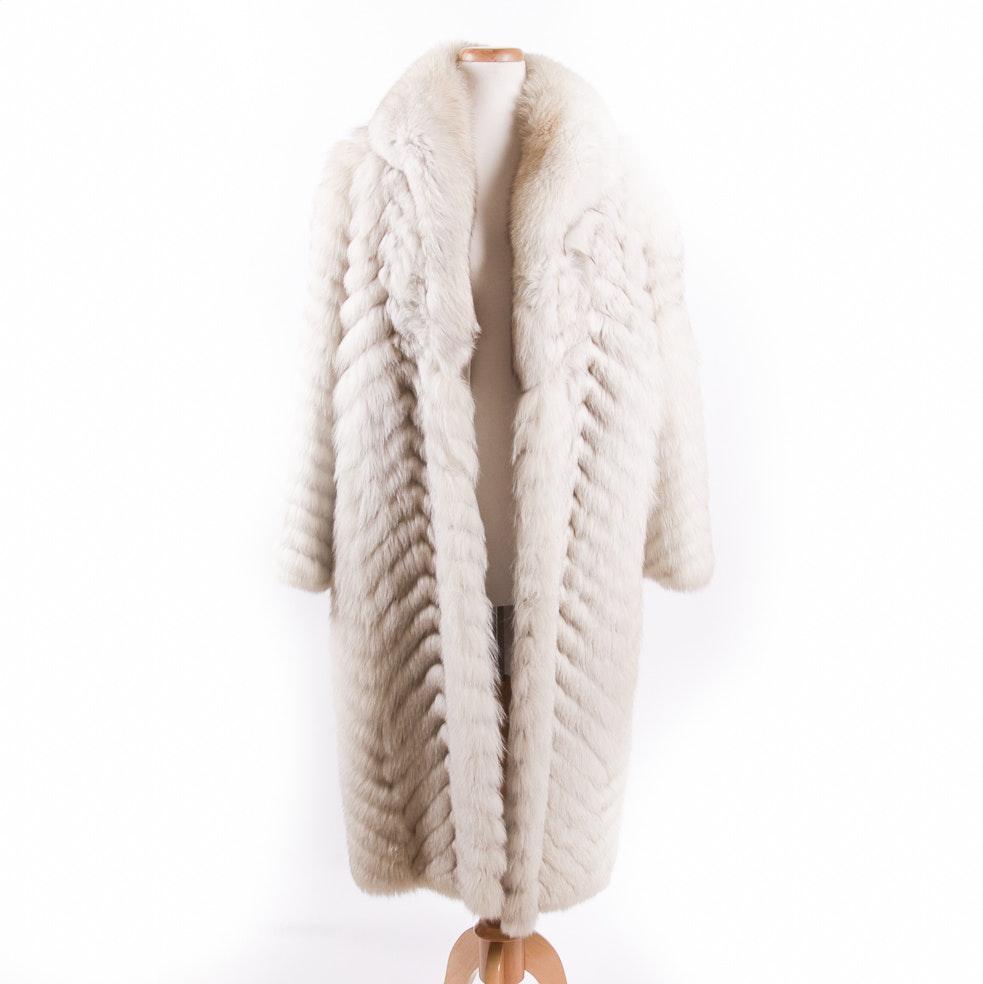 Women's Saga Fox Fur Coat