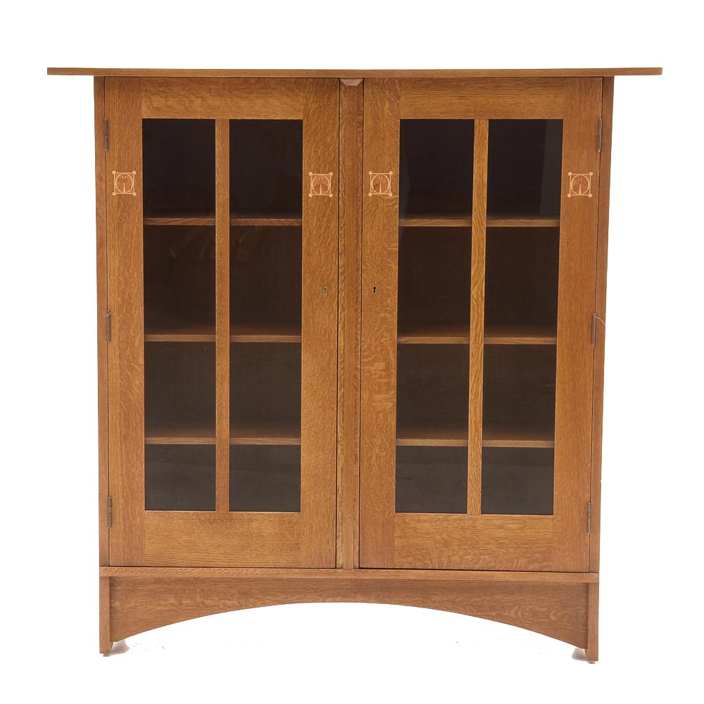 Stickley Oak Cabinet Unit : EBTH