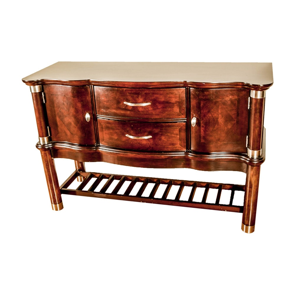 Serpentine Front Buffet by Klaussner