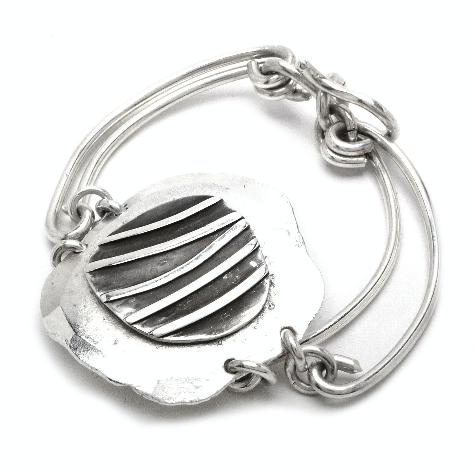 Artisan-Made Fine Sterling Silver Bracelet