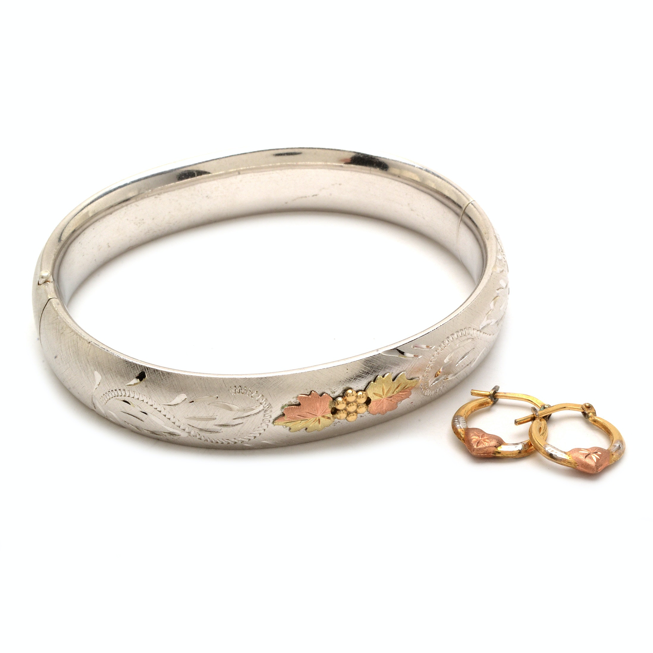 Vintage Sterling Silver Jewelry with Gold Accents from Carl Art and Mom Jordan