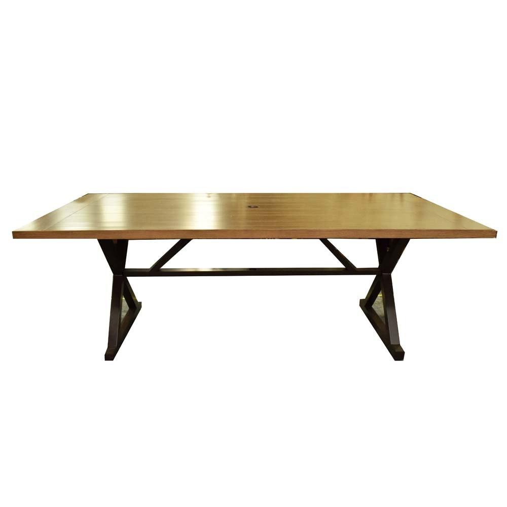 Aluminum Trestle Picnic Table