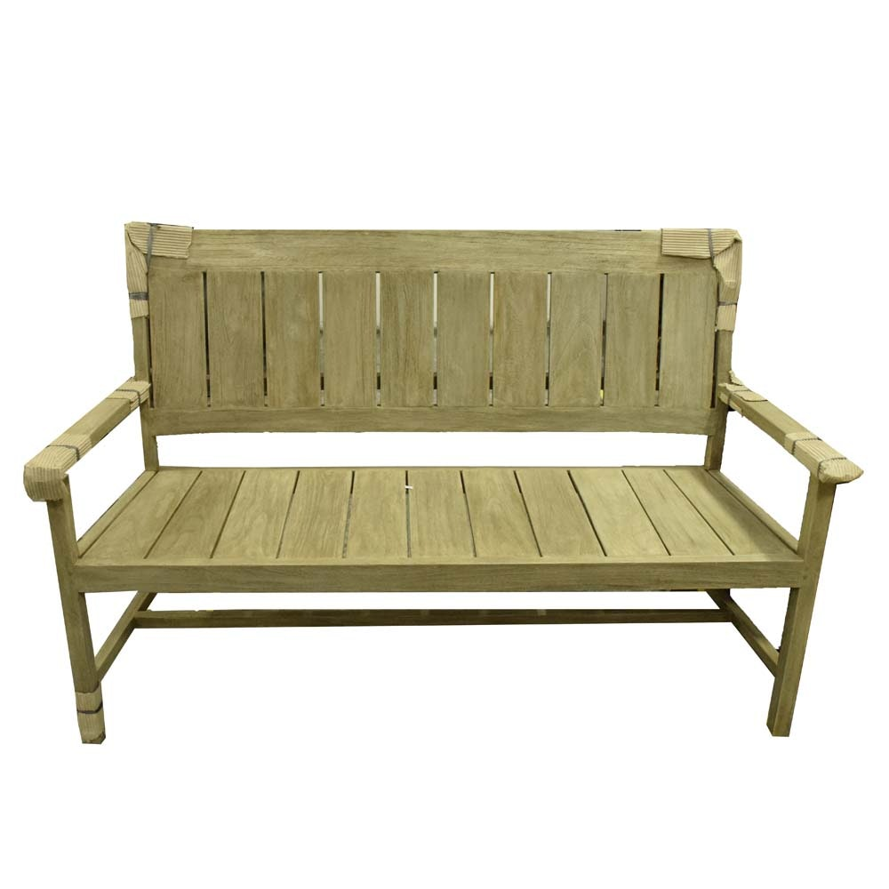 Teak Patio Bench