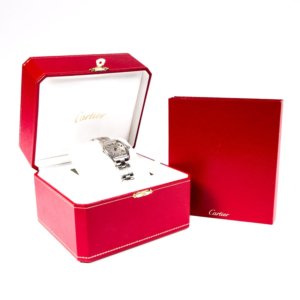 "Cartier ""Roadster"" Wristwatch"