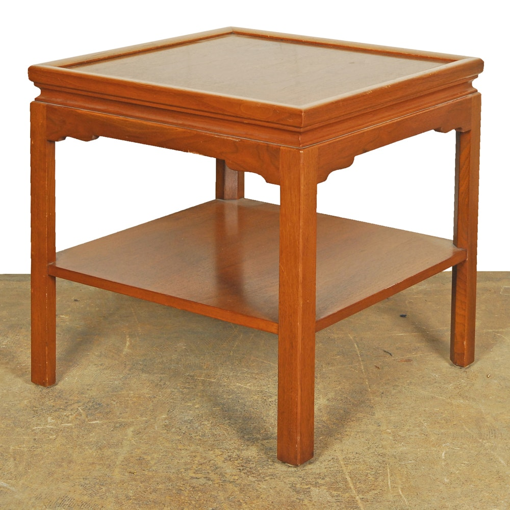 Chippendale Walnut Side Table by Stow & Davis