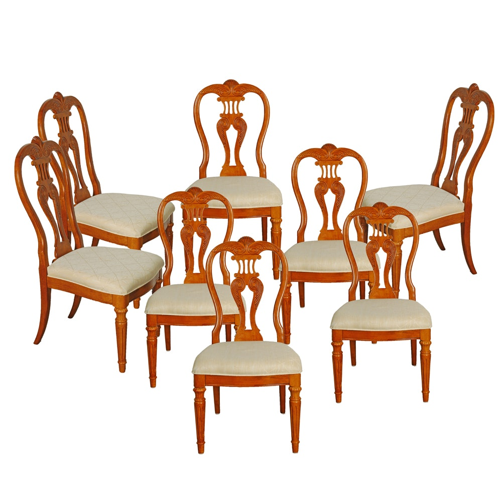 Set of Neoclassical Style Dining Chairs by Universal Furniture