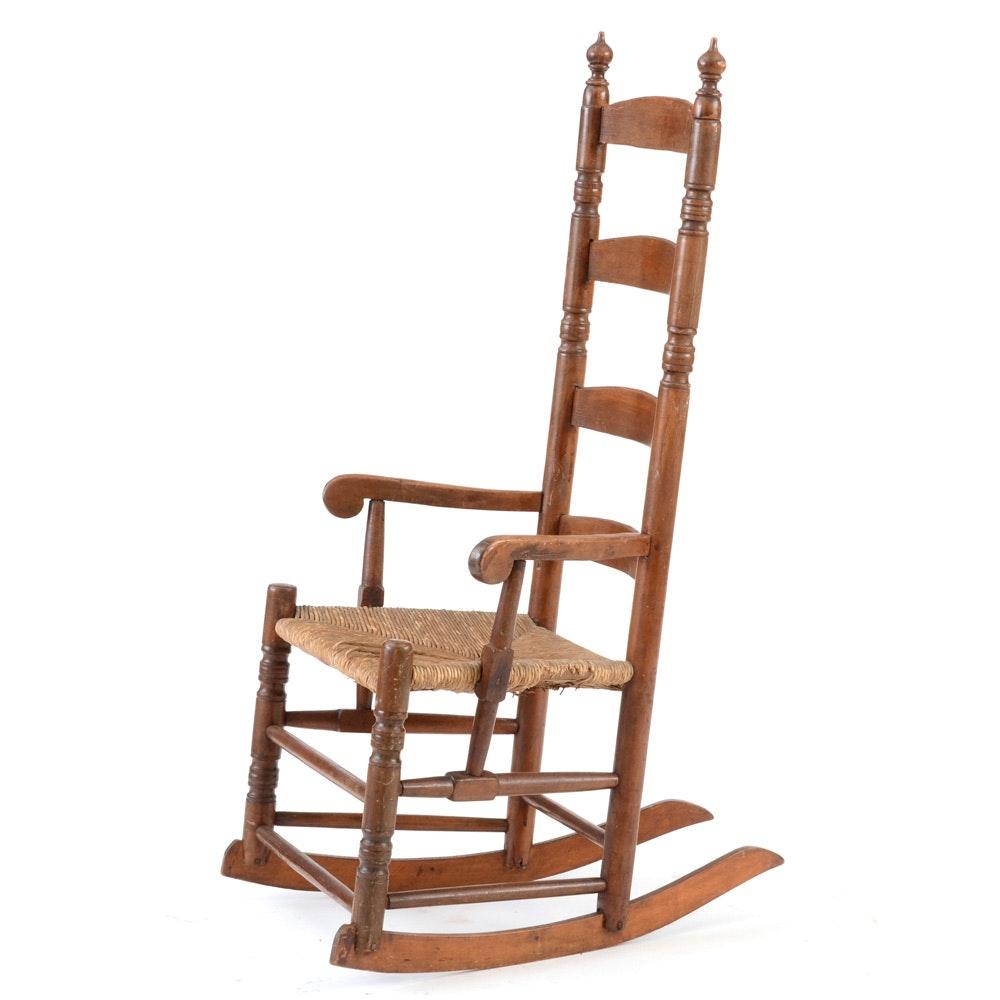 Slat Back Rocking Chair