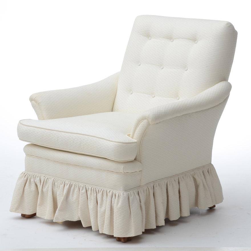 Tufted Club Chair | EBTH