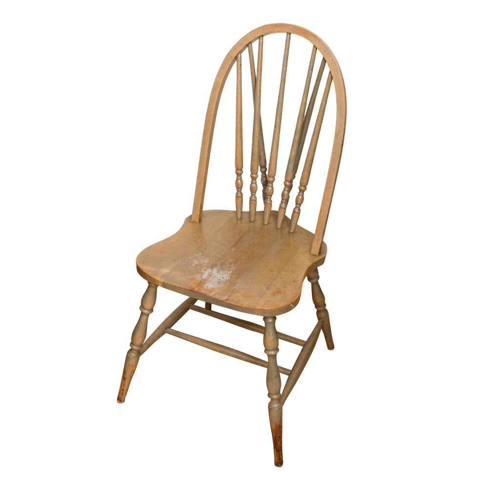 Brace Back Windsor Style Chair