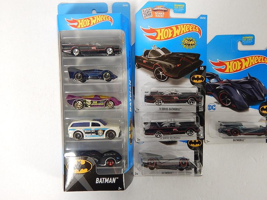 Batman Batmobile Hot Wheels Car Collection With Super