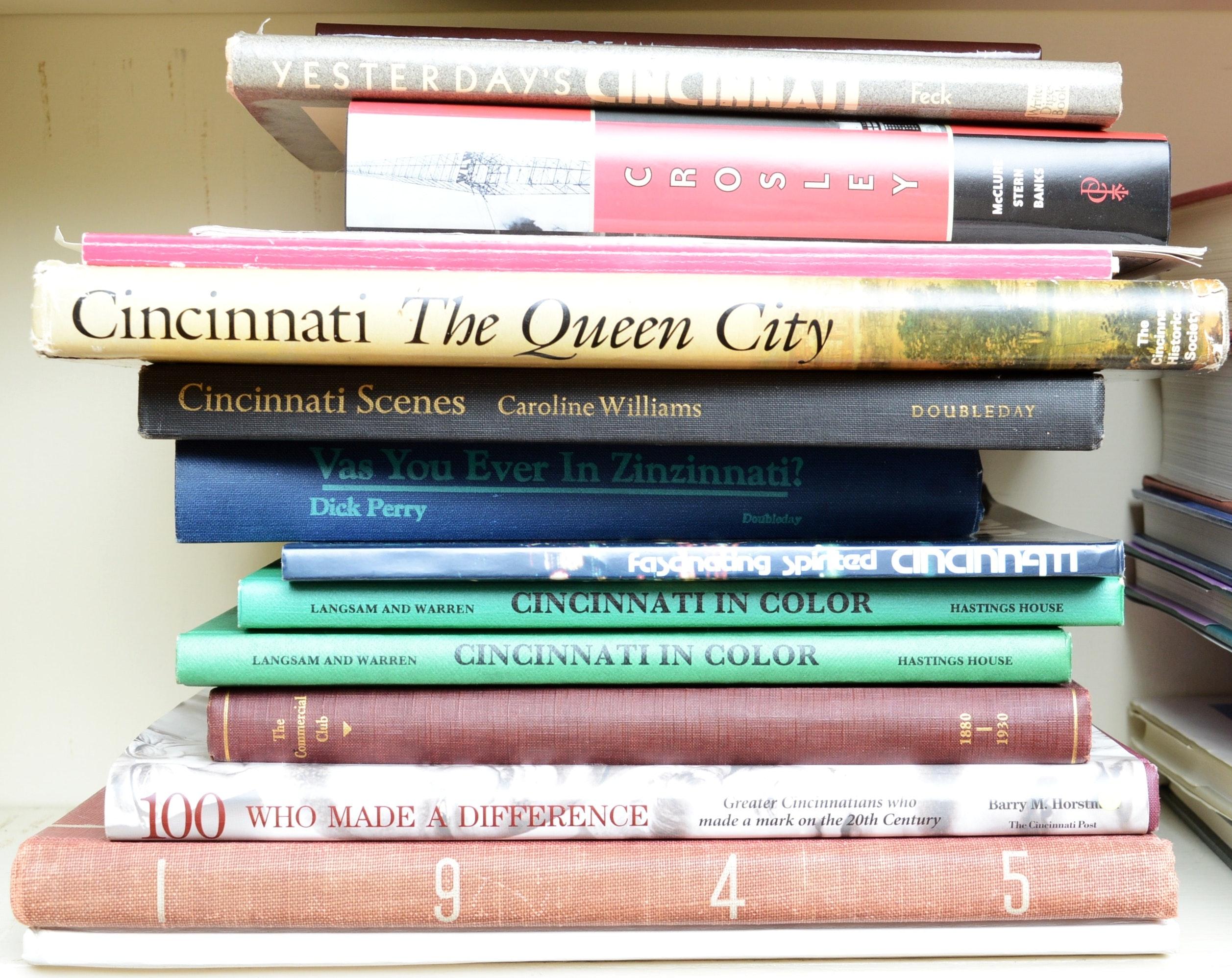 Cincinnati Area Historical Book Collection
