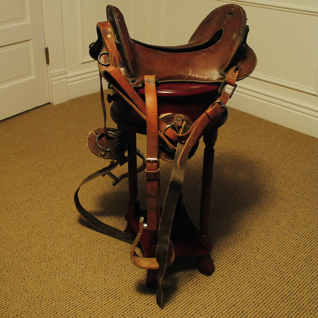 Vintage McClellan War Saddle