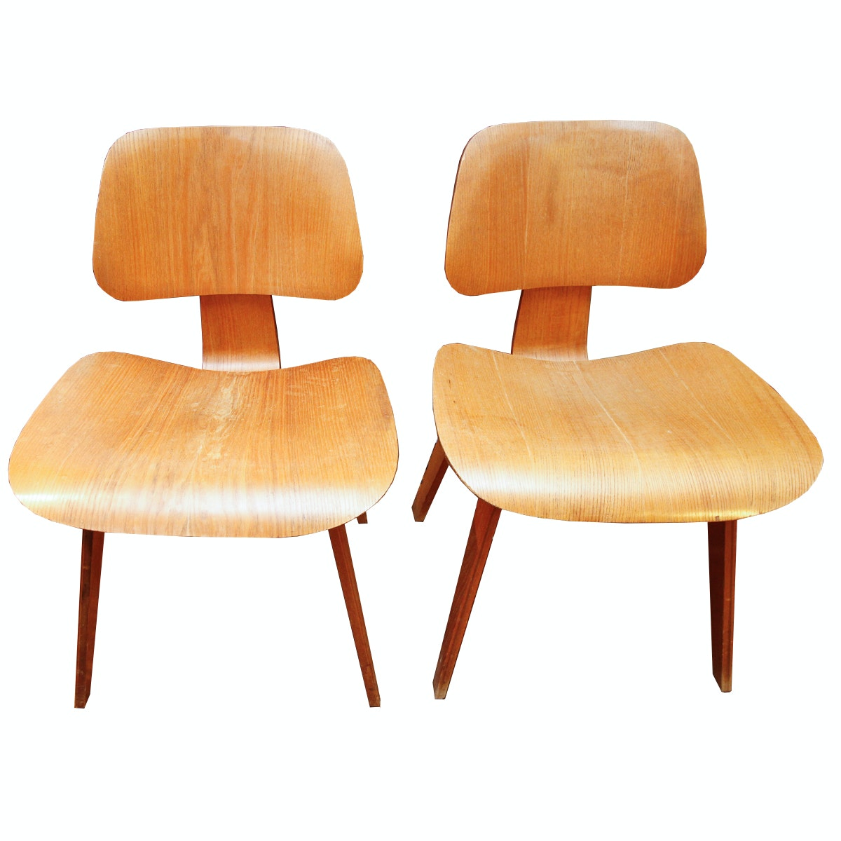 "Mid Century Modern Chairs After Eames ""DCW"""