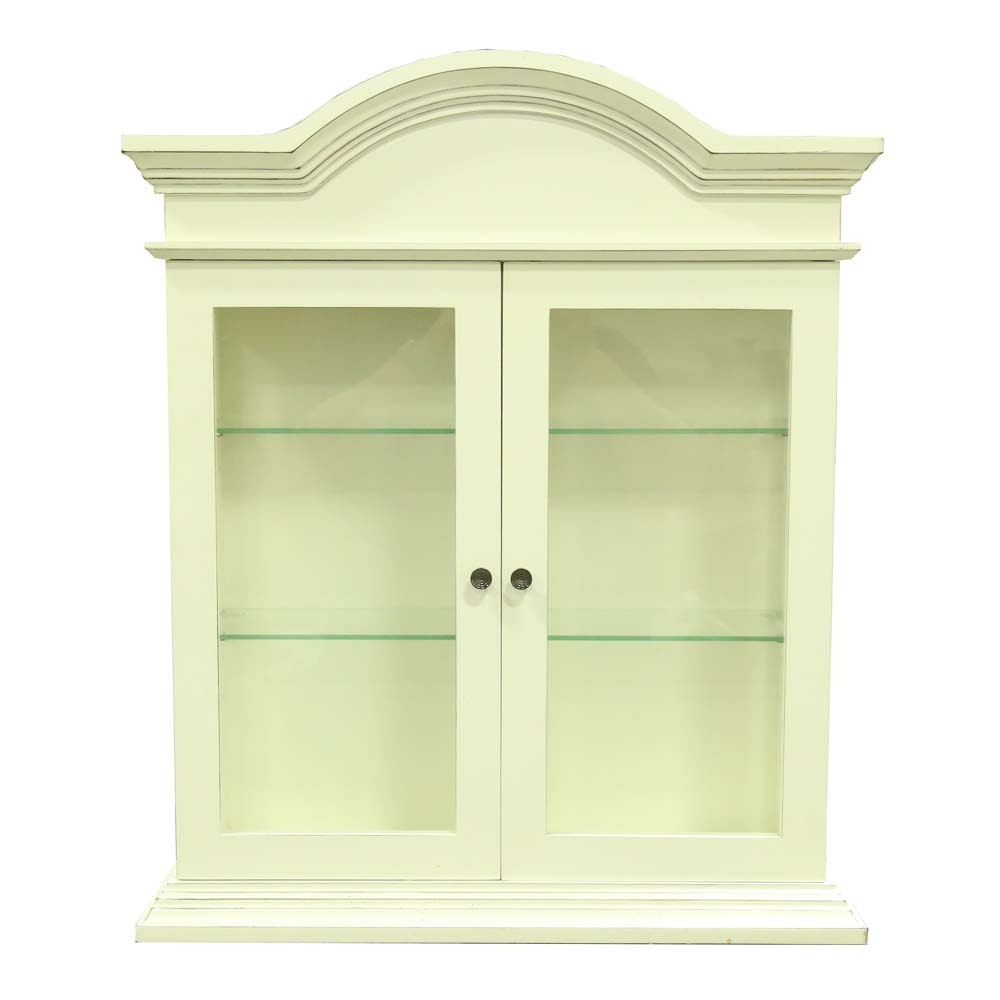Wall Mounted Curio Cabinet from Bombay Company