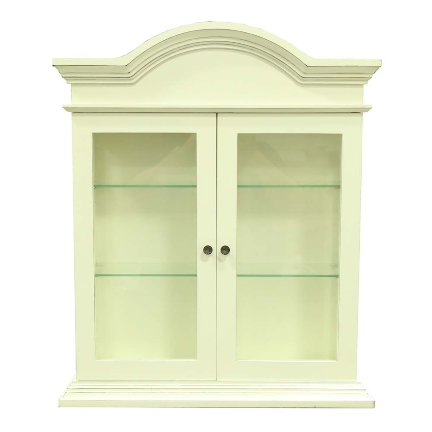 Wall Mounted Curio Cabinet from Bombay Company : EBTH