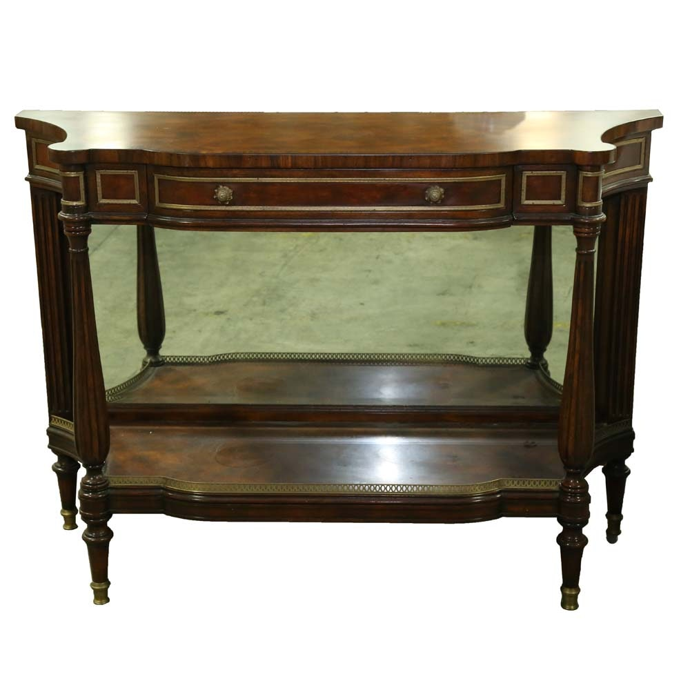 Regency Style Console Table by Theodore Alexander