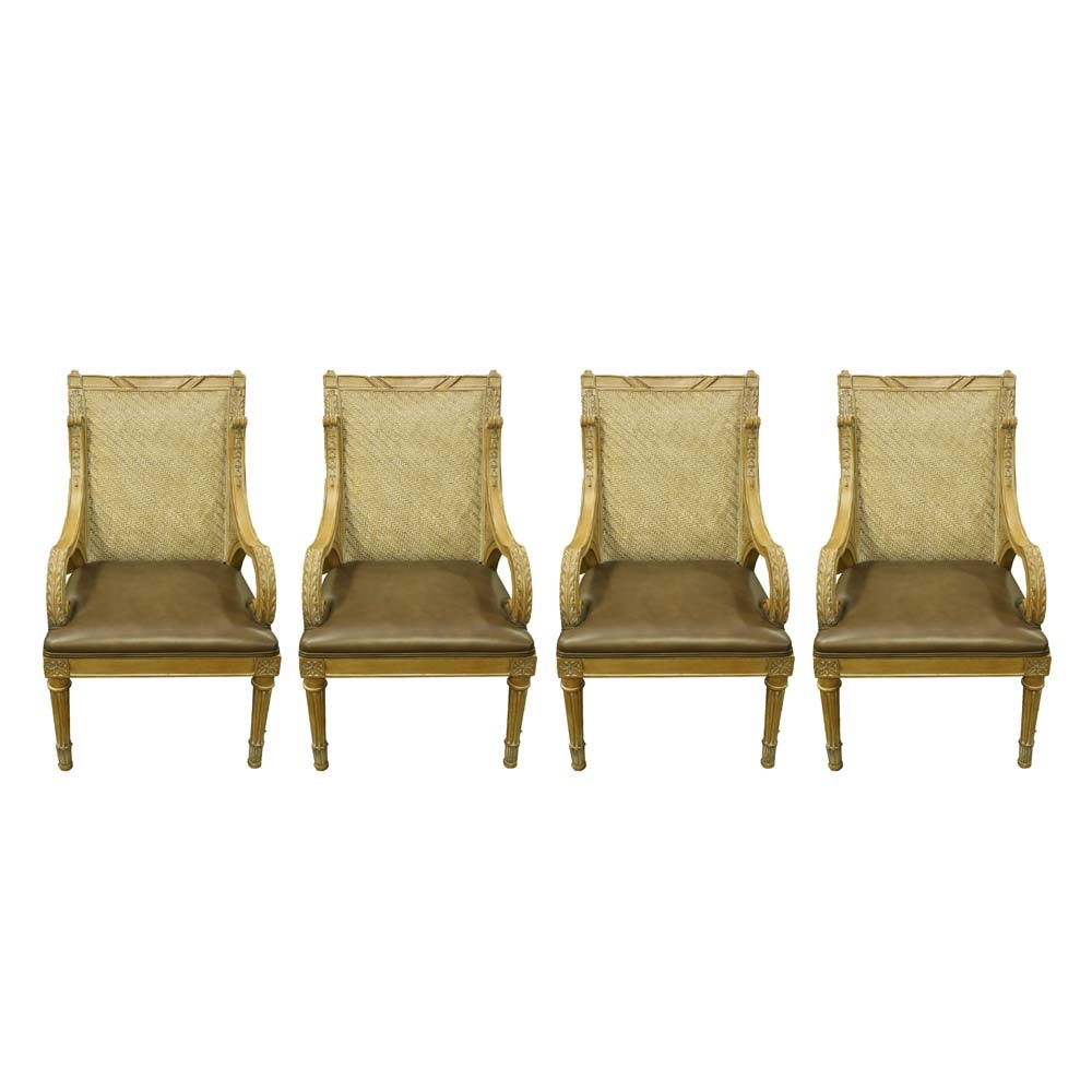 Set of Four Arm Chairs