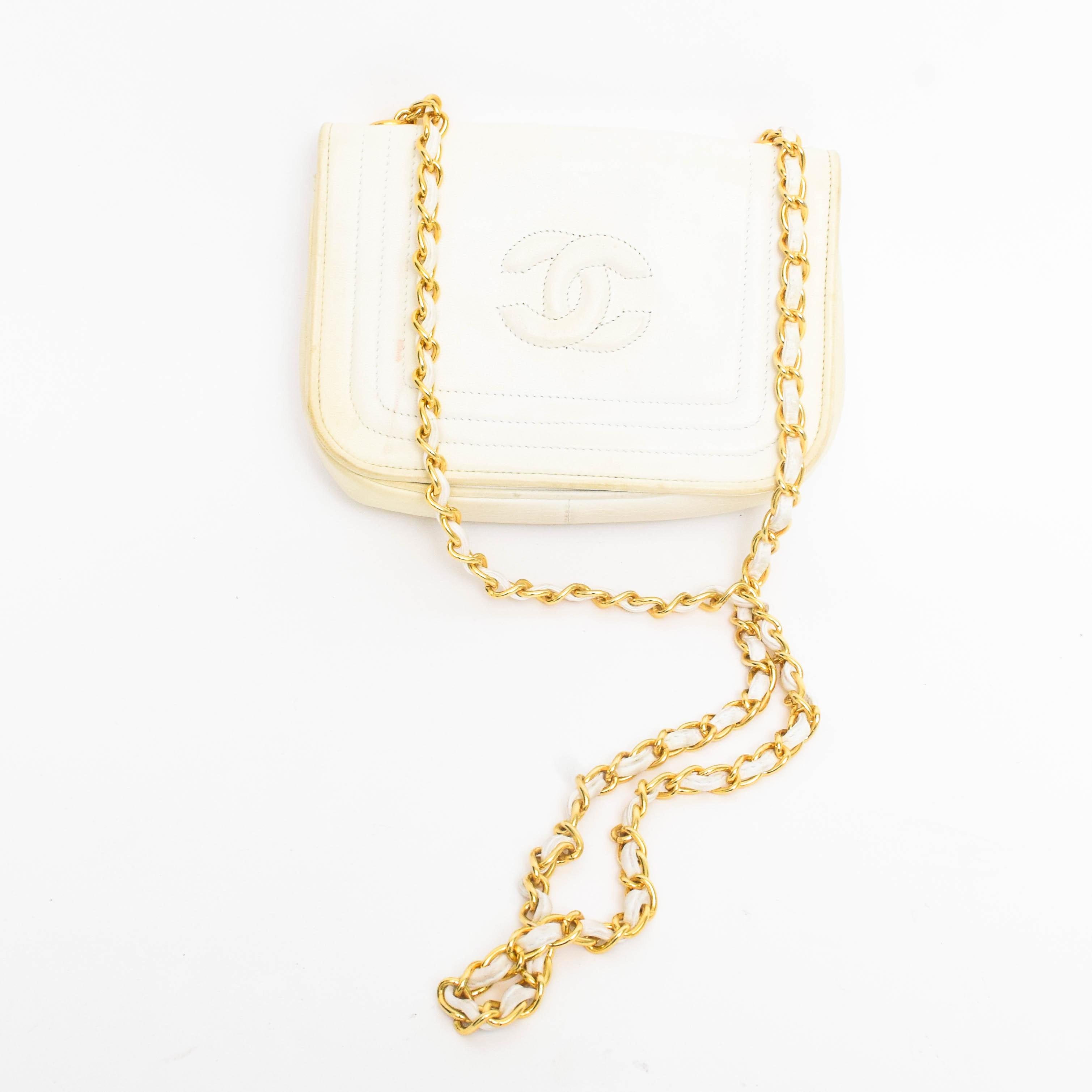 Circa 1980s Chanel Flap Bag