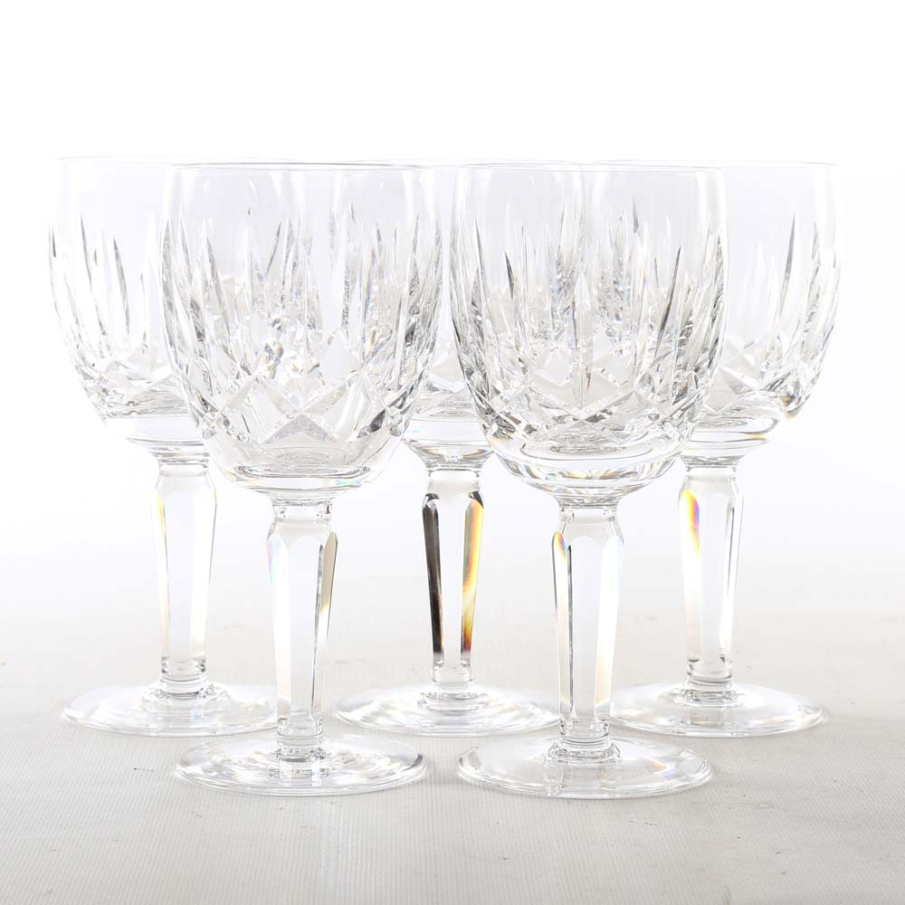 "Waterford ""Kildare"" Crystal Stemware"