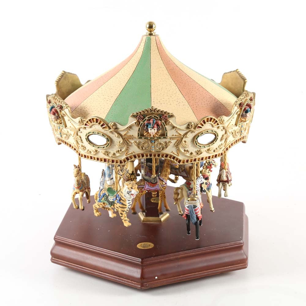 Limited Edition San Francisco Music Box Company Merry-Go-Round