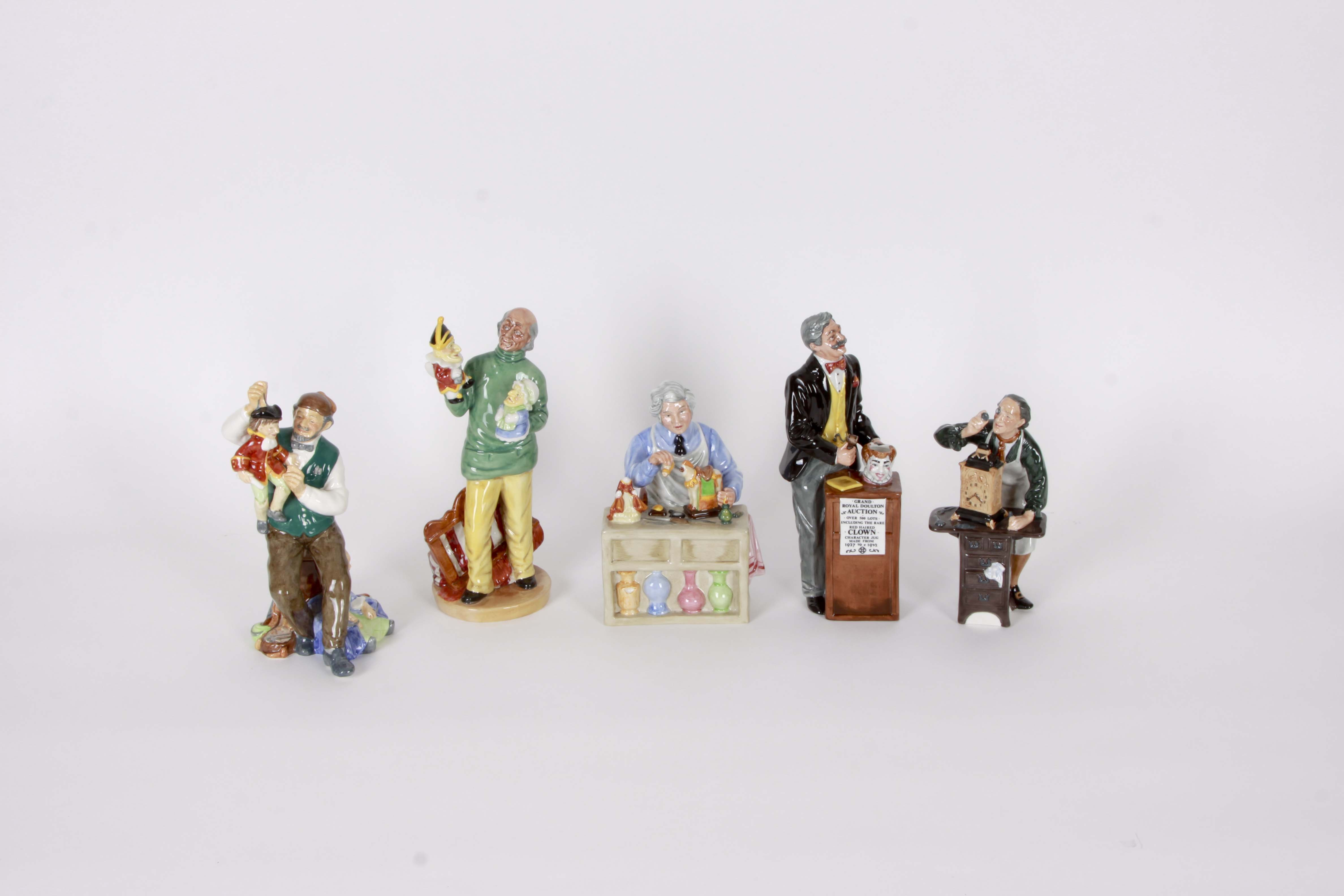 Collection of Vintage Royal Doulton Figurines
