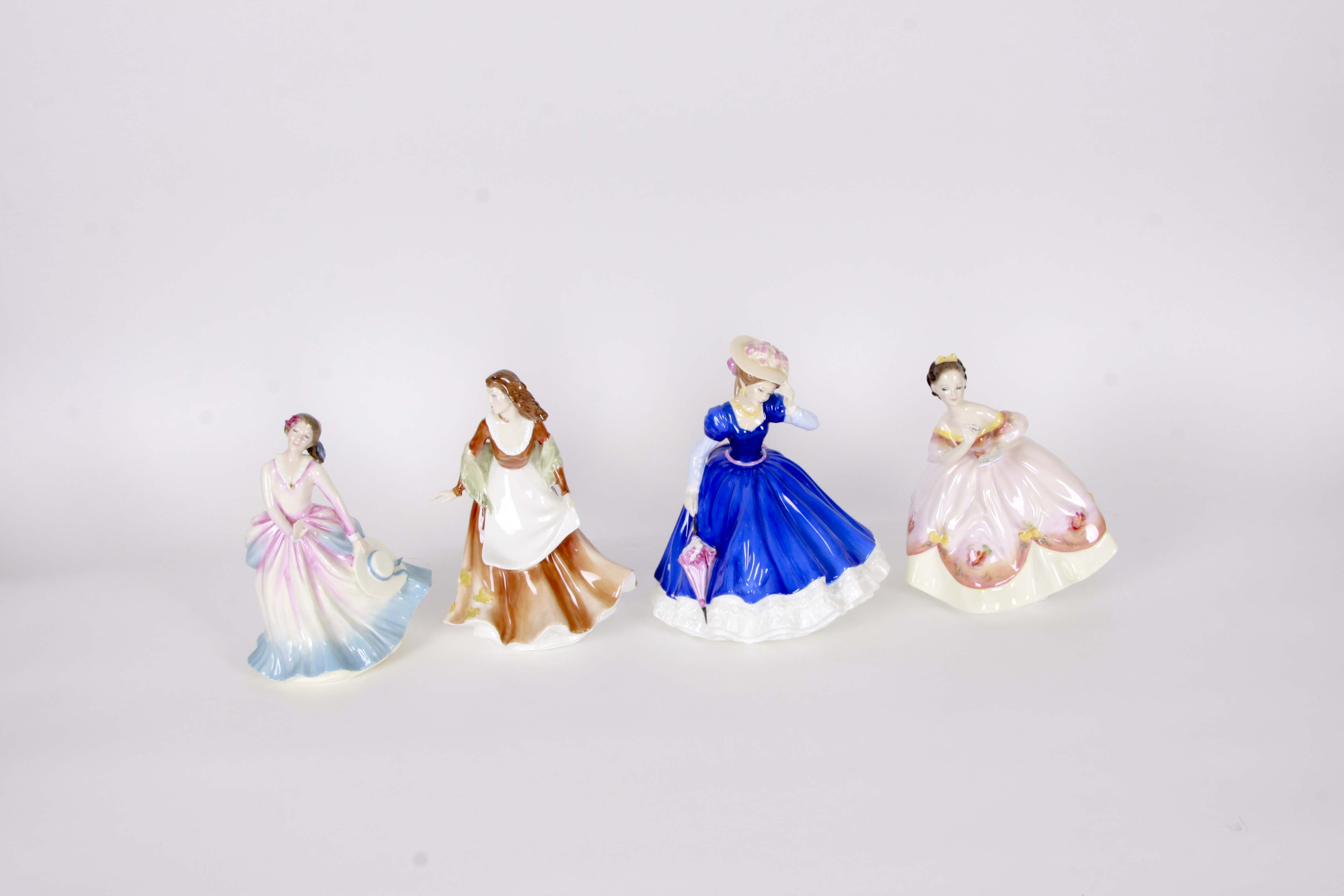 "Royal Doulton Limited Edition Figurines Including ""Barbara"" and ""The Last Waltz"""