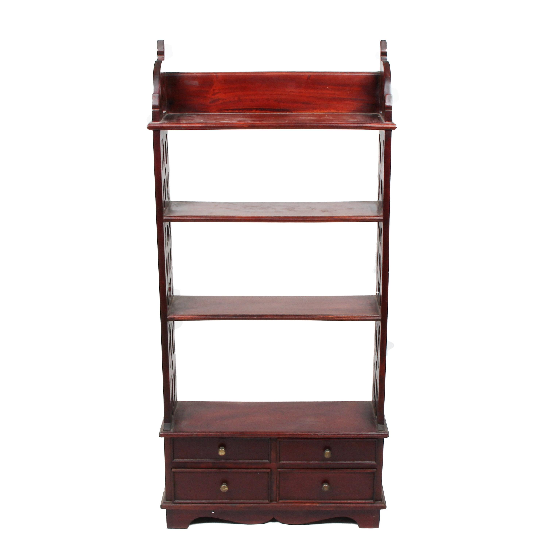 Vintage Victorian Style Wooden Shelf