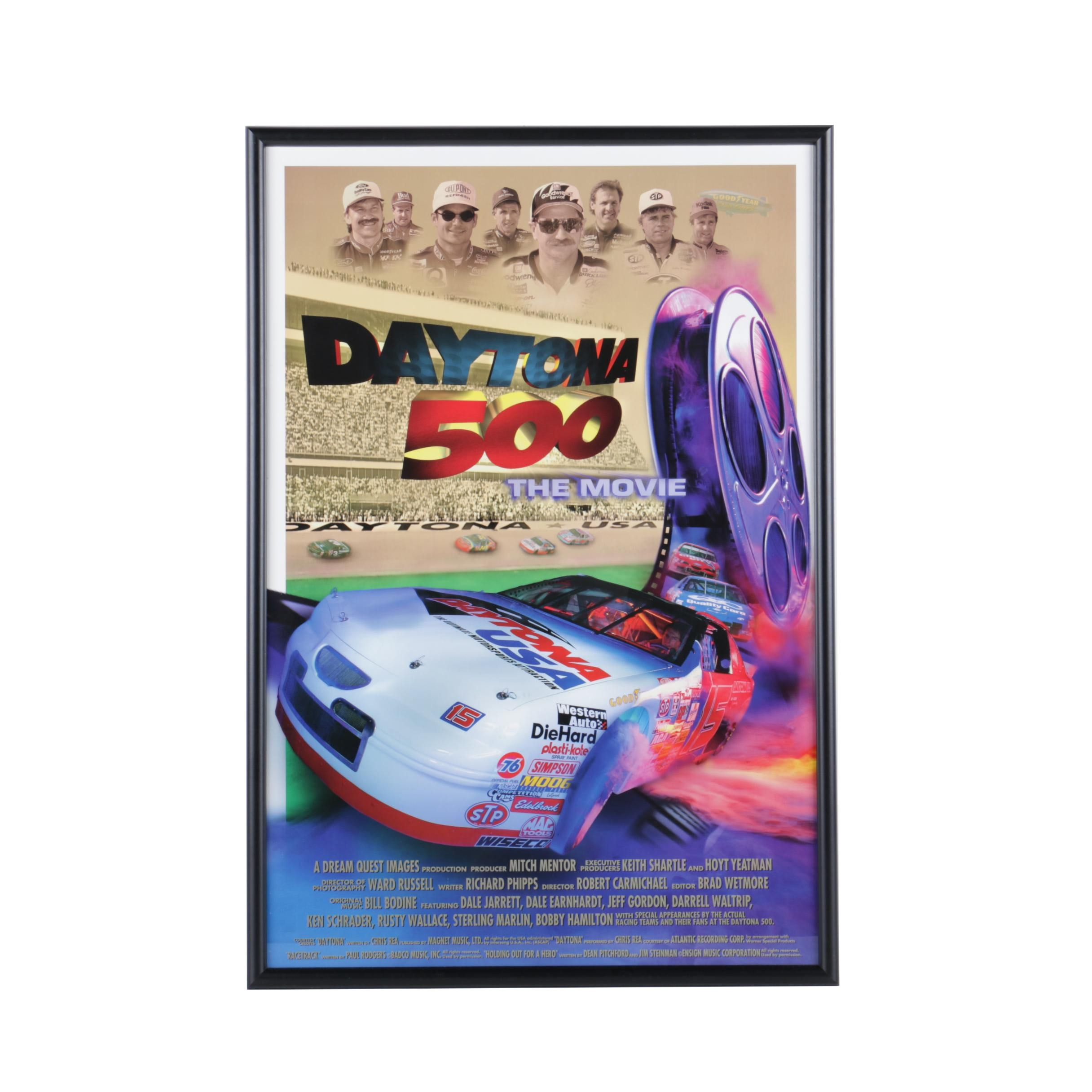 """Reproduction Poster for """"Daytona 500: The Movie"""""""
