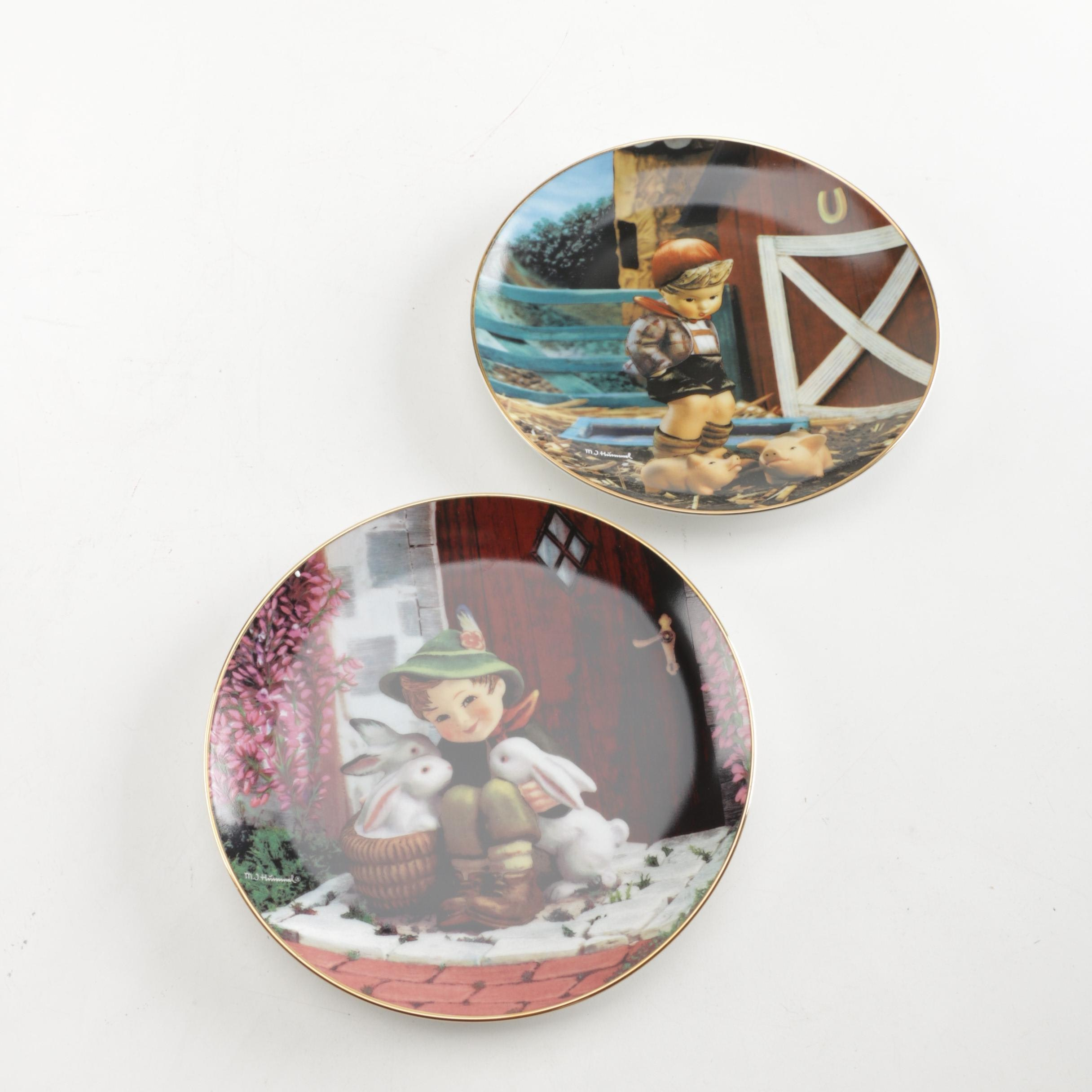 "M. I. Hummel ""Gentle Friends"" Collector Plates"