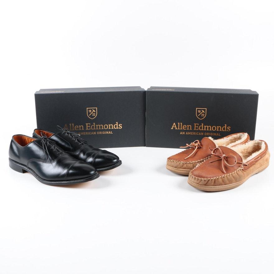 936c63908fd9 Allen Edmonds Park Avenue Dress Shoes with Slippers   EBTH
