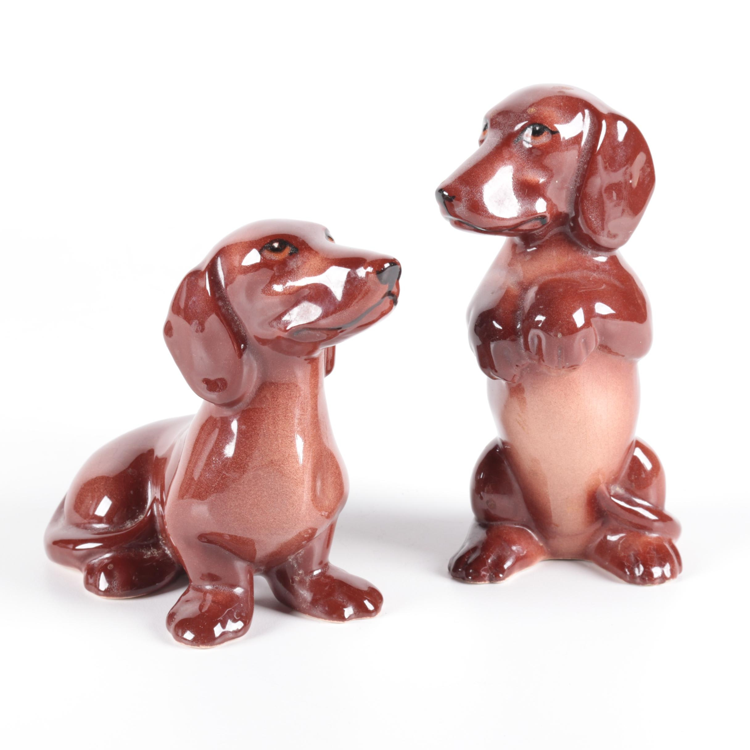Ceramic Dog Figurines