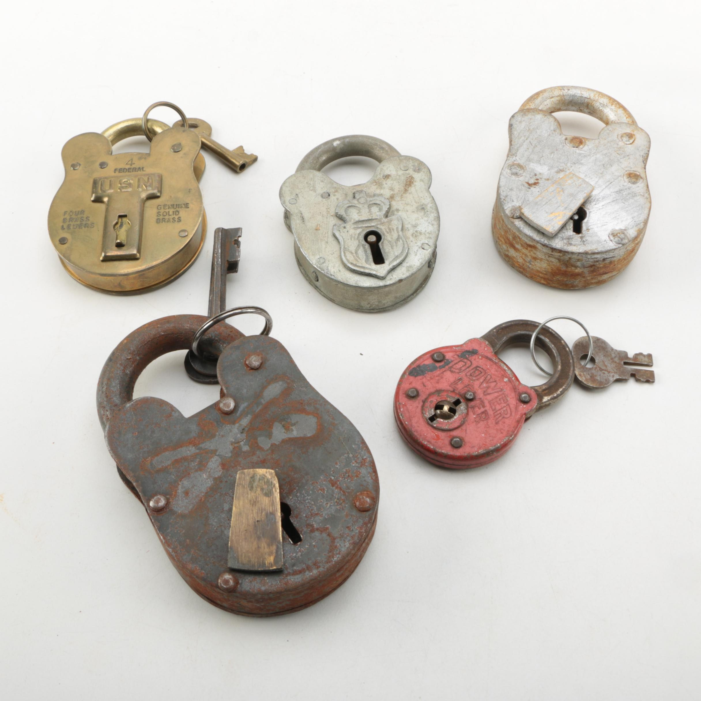 Vintage Padlocks and Keys