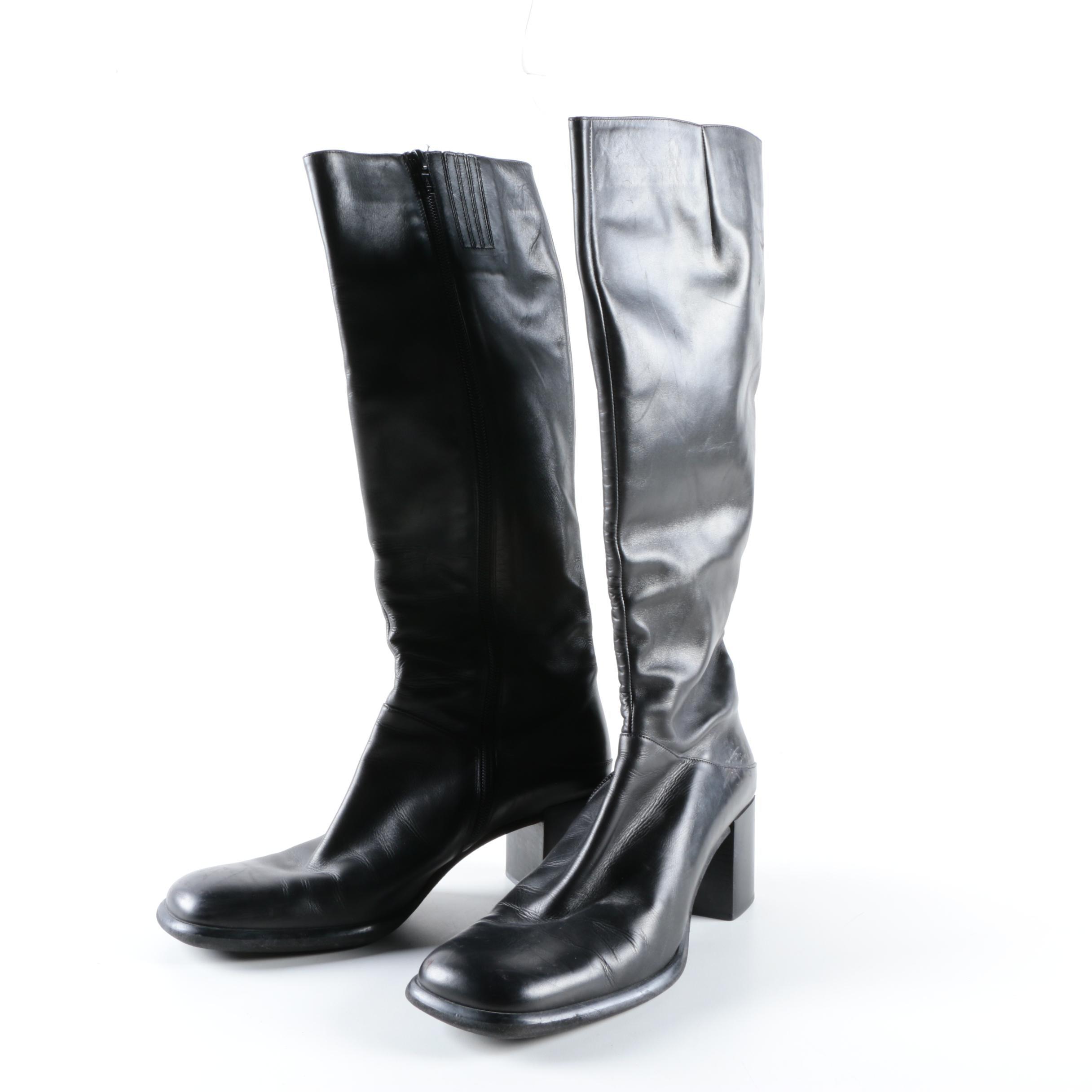 Women's Via Spiga Leather Boots