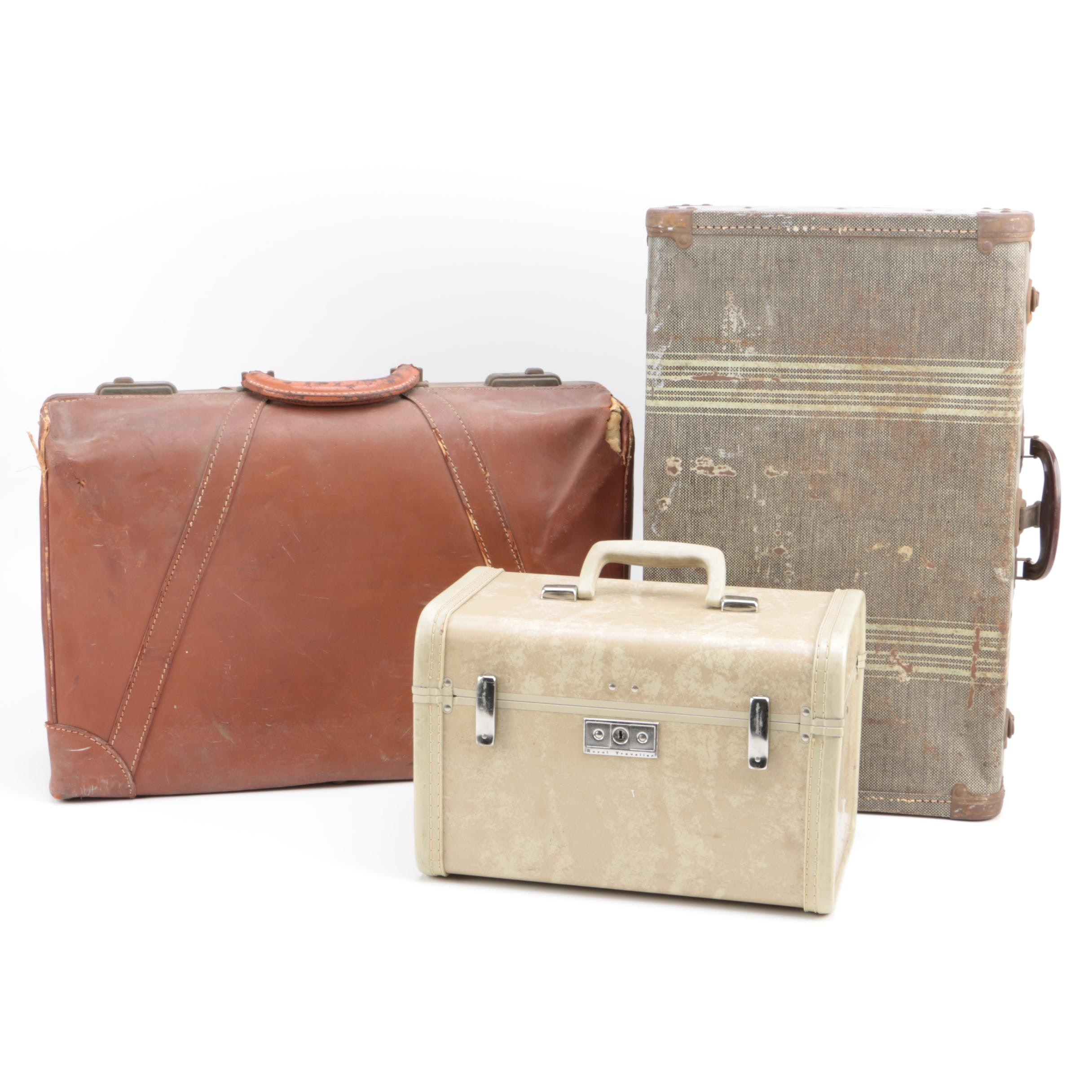 Selection of Vintage Suitcases