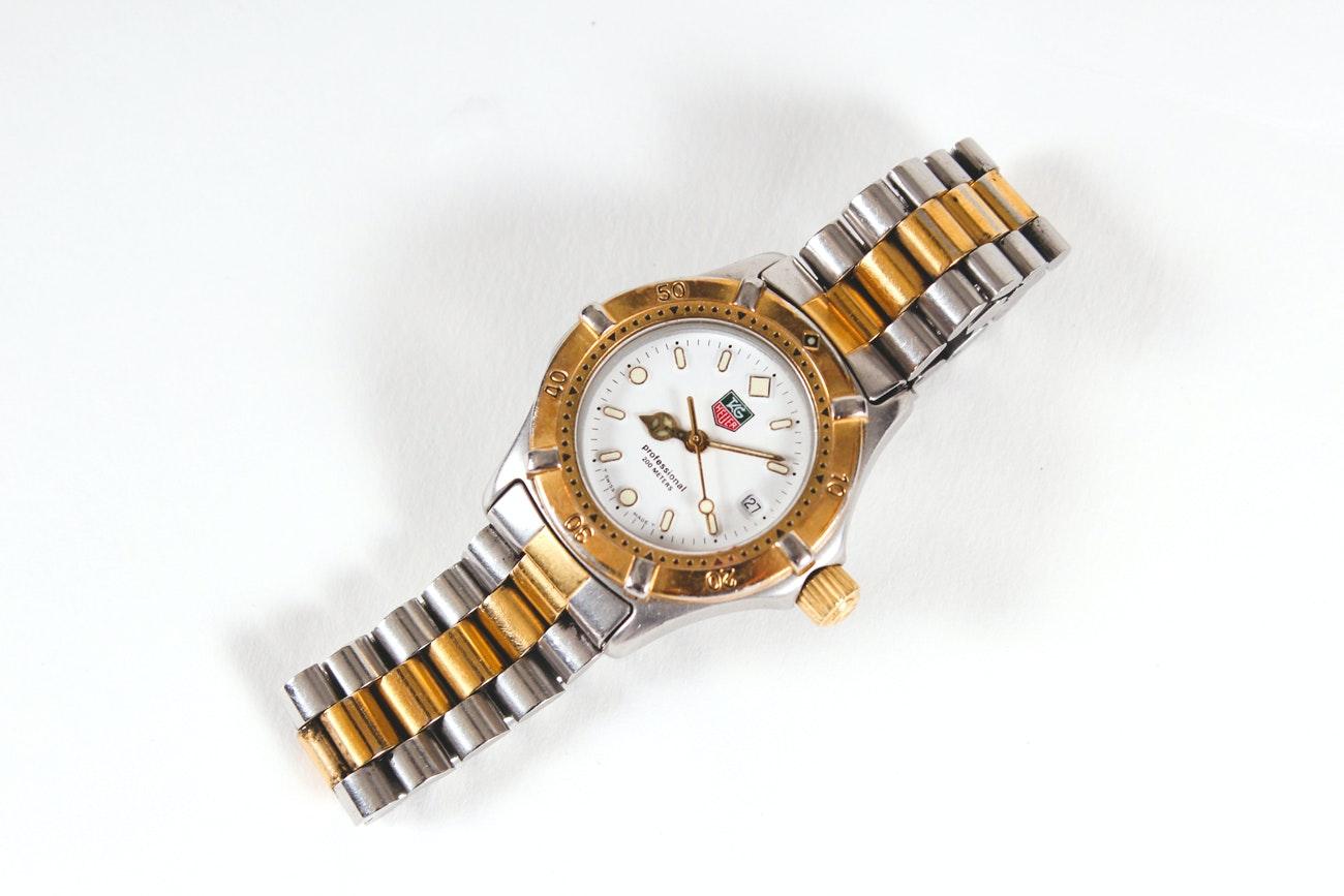 TAG Heuer Two-Tone Wristwatch