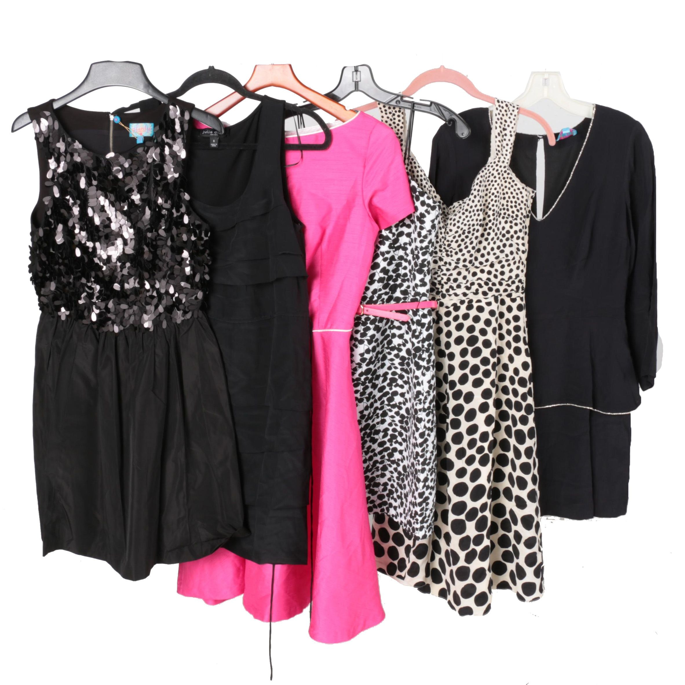 Six Dresses Including Ann Taylor