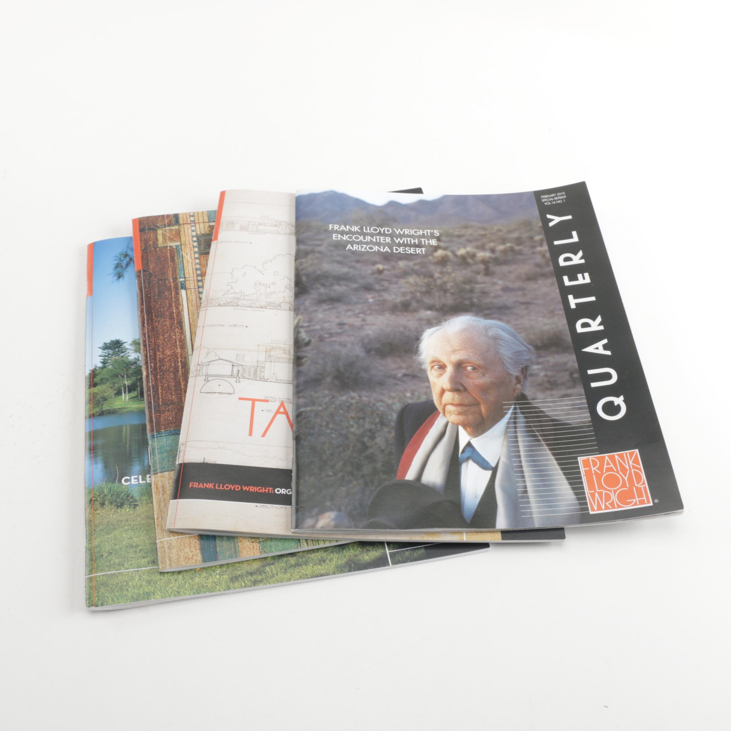 """Frank Lloyd Wright Quarterly"" Magazines"