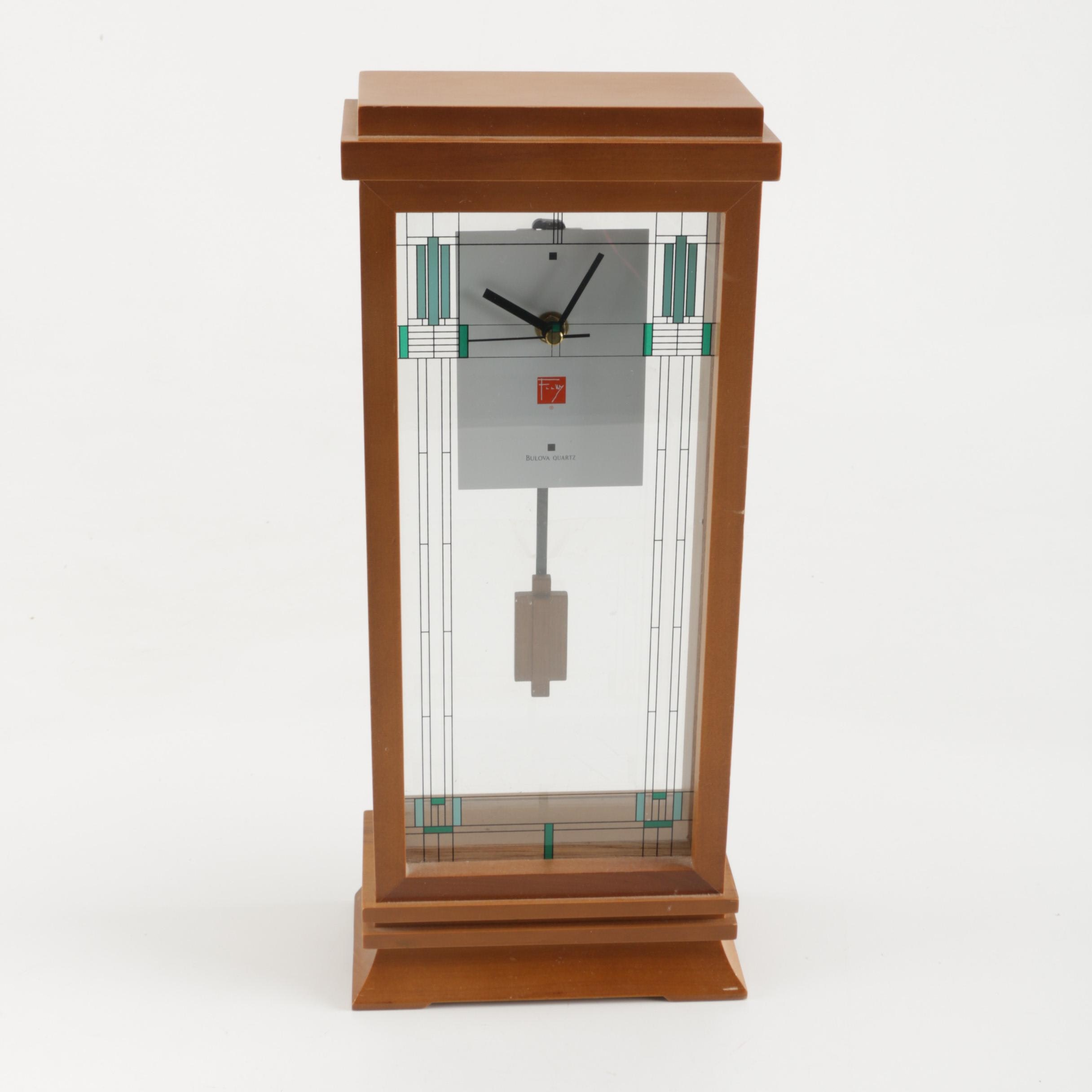Willits Mantel Clock From the Frank Lloyd Wright Collection by Bulova