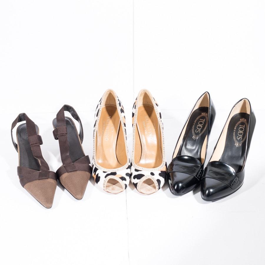 Designer Heels Including Gucci