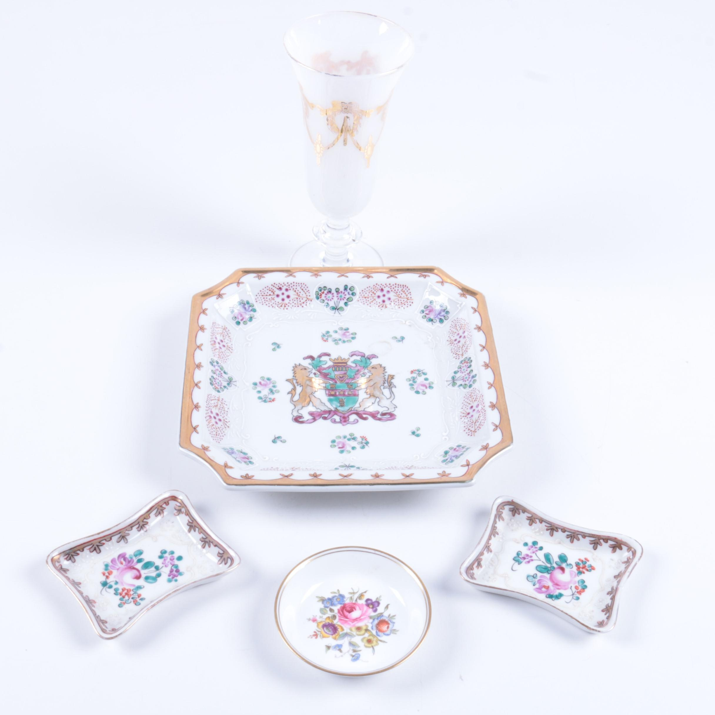 Vintage Serveware Including Royal Worcester