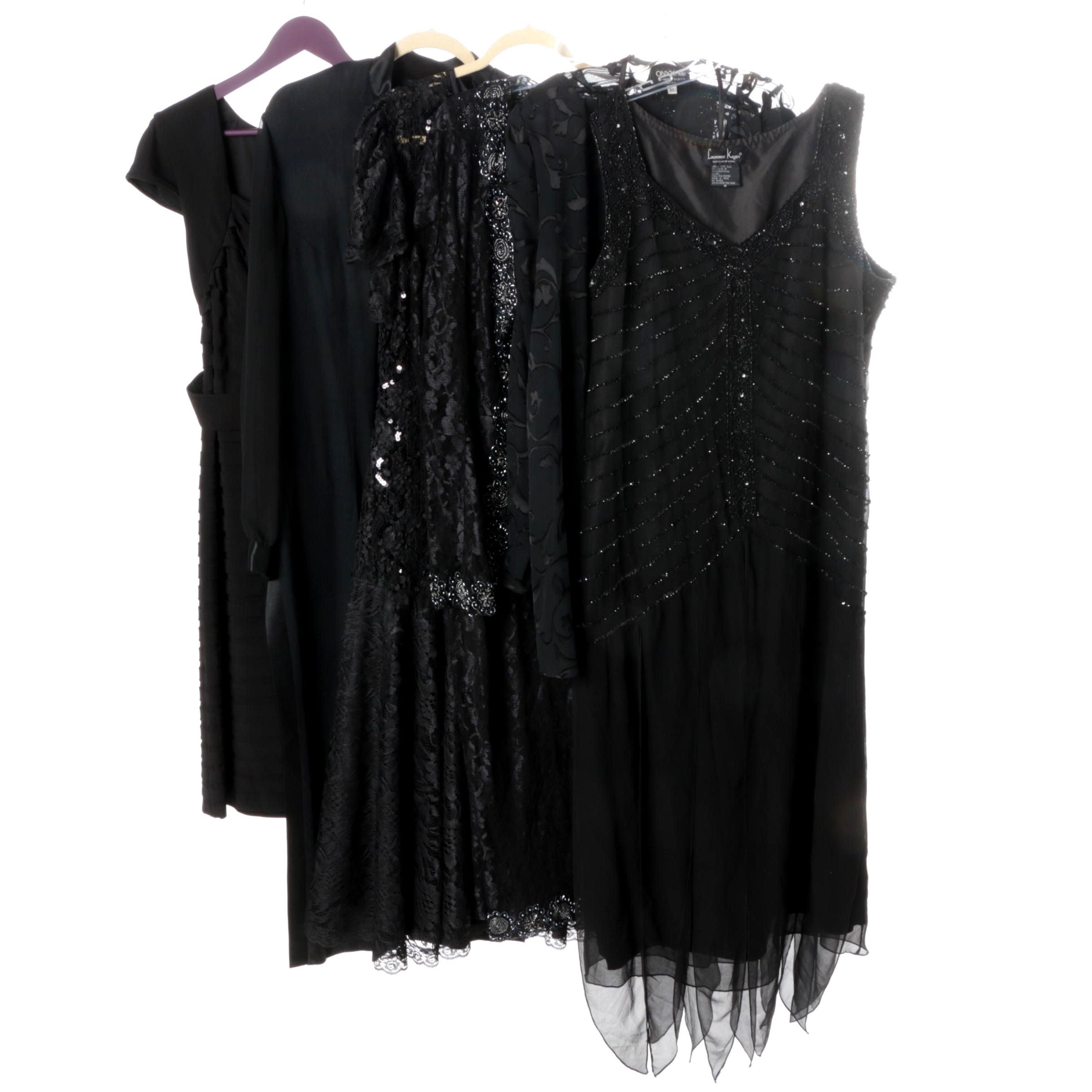 Black Evening Dresses Featuring Adriana Pappel