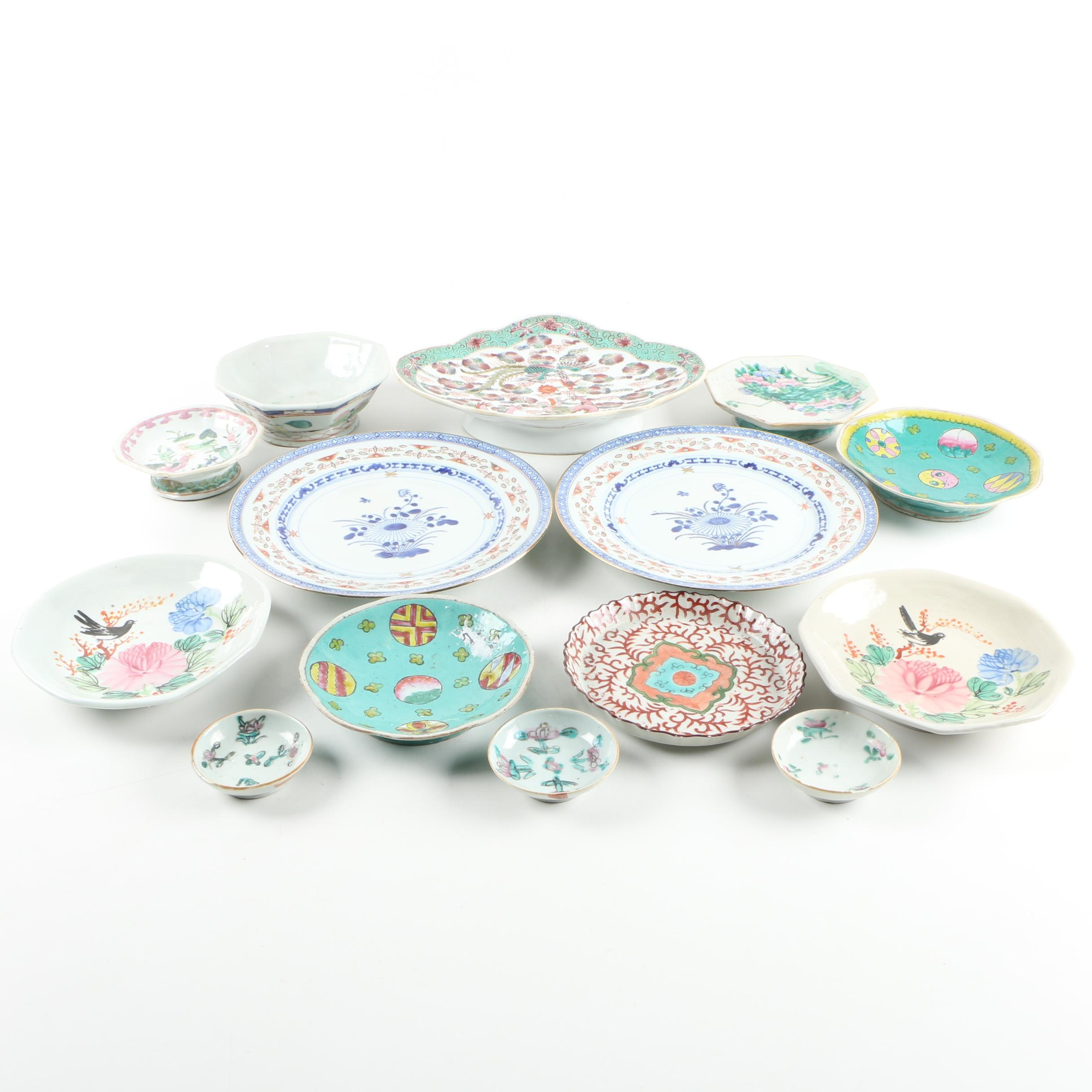 Asian Ceramic and Porcelain Plates