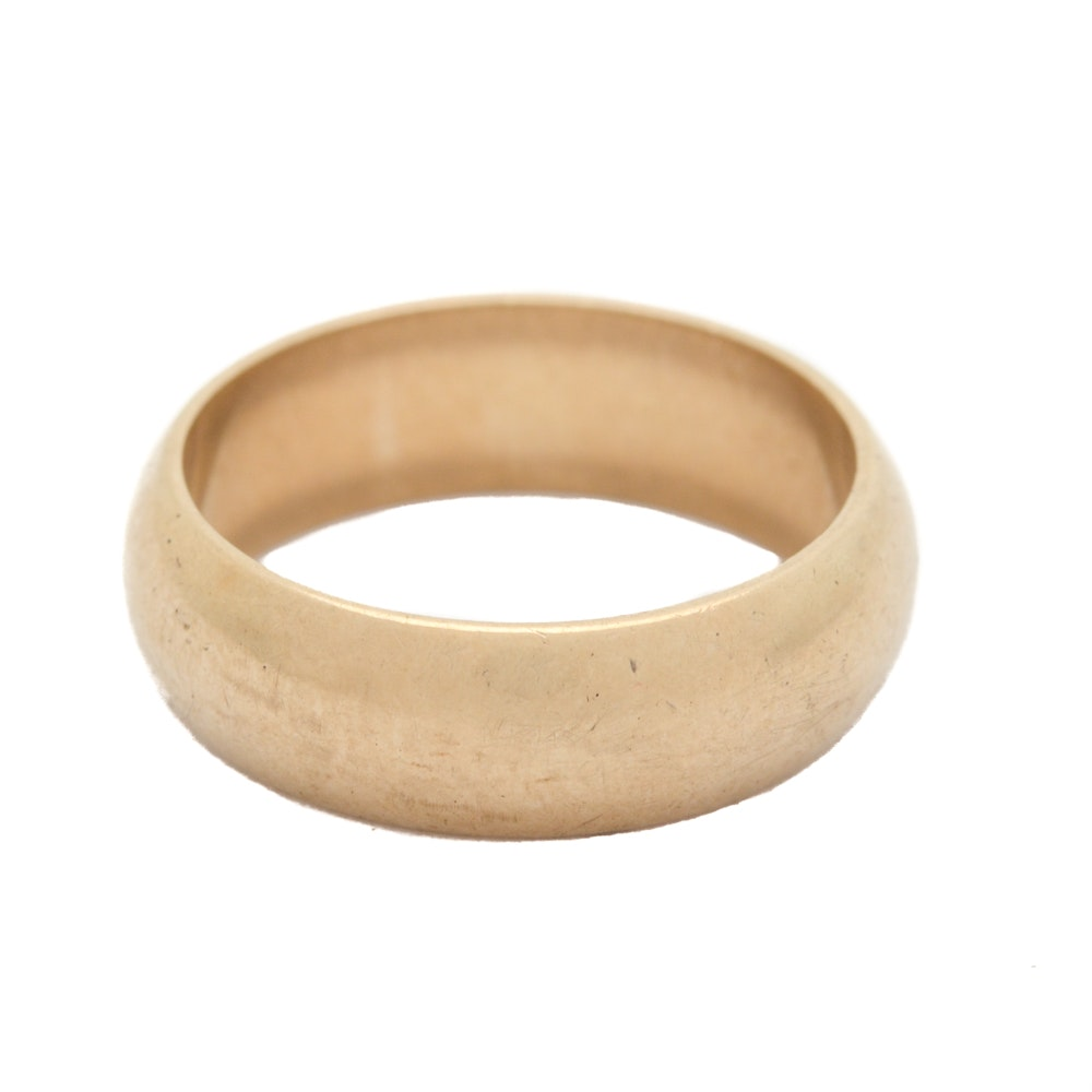 Vintage 14K Yellow Gold Band