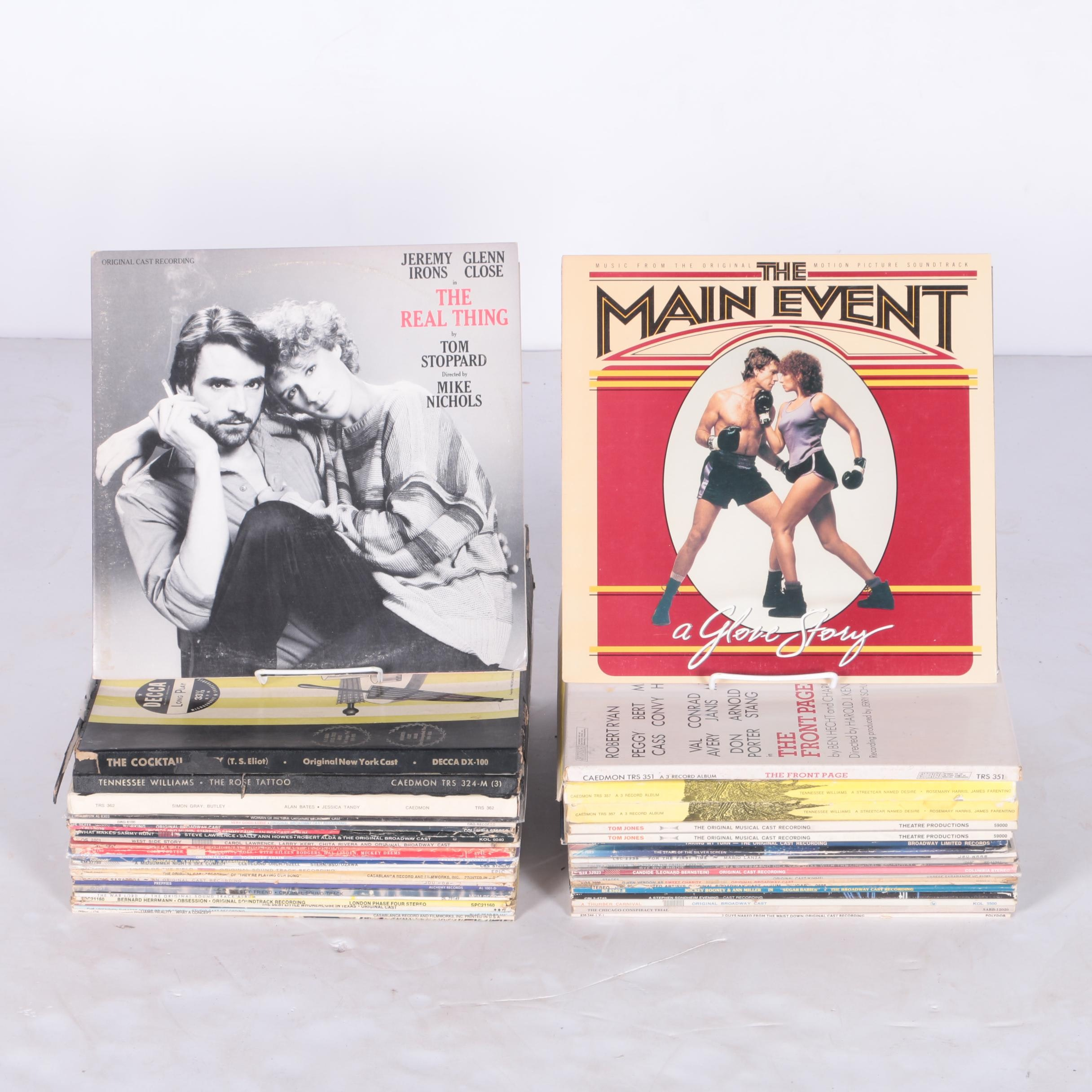 Collection of Stage and Screen LP Records