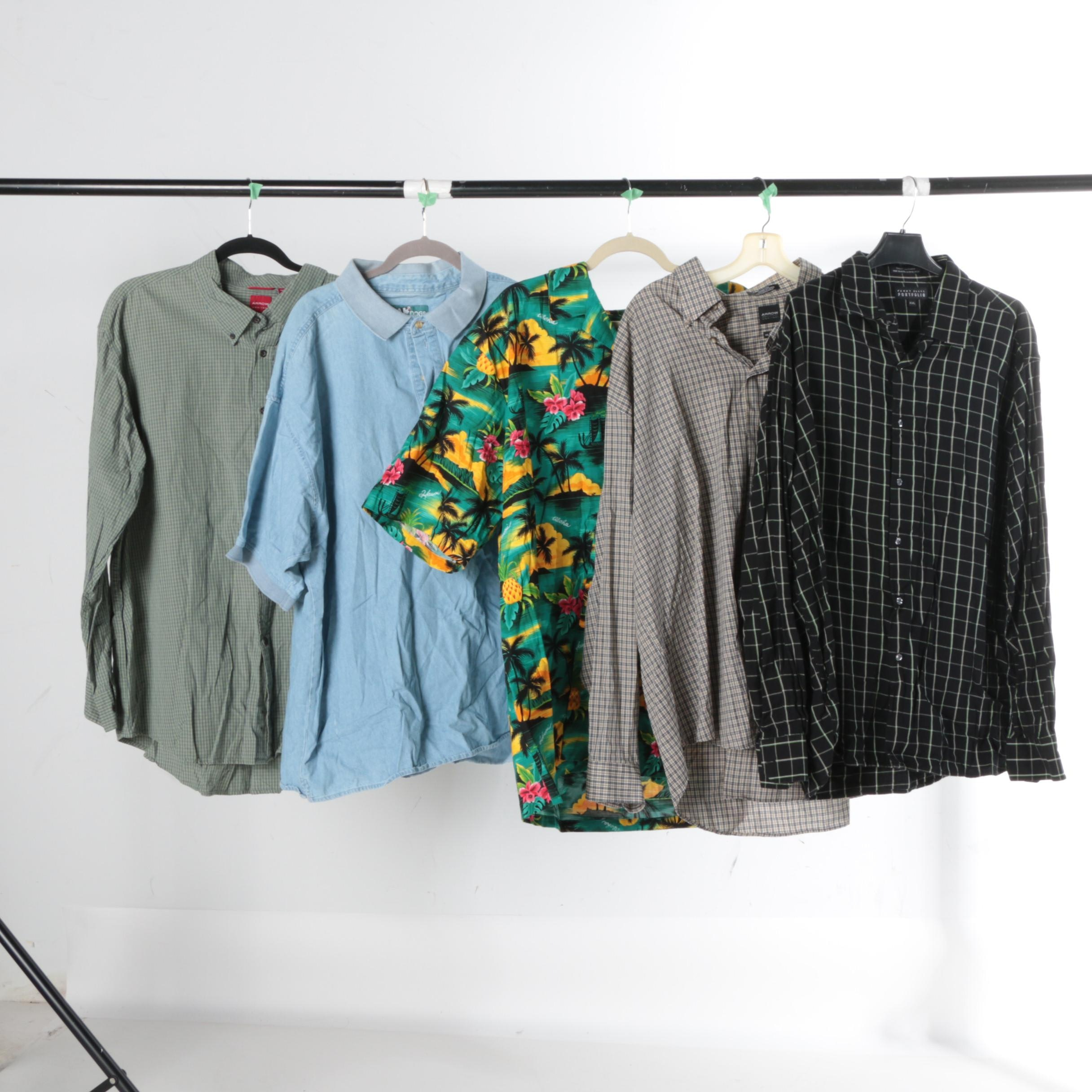 Men's Button-Down Shirts Including Arrow