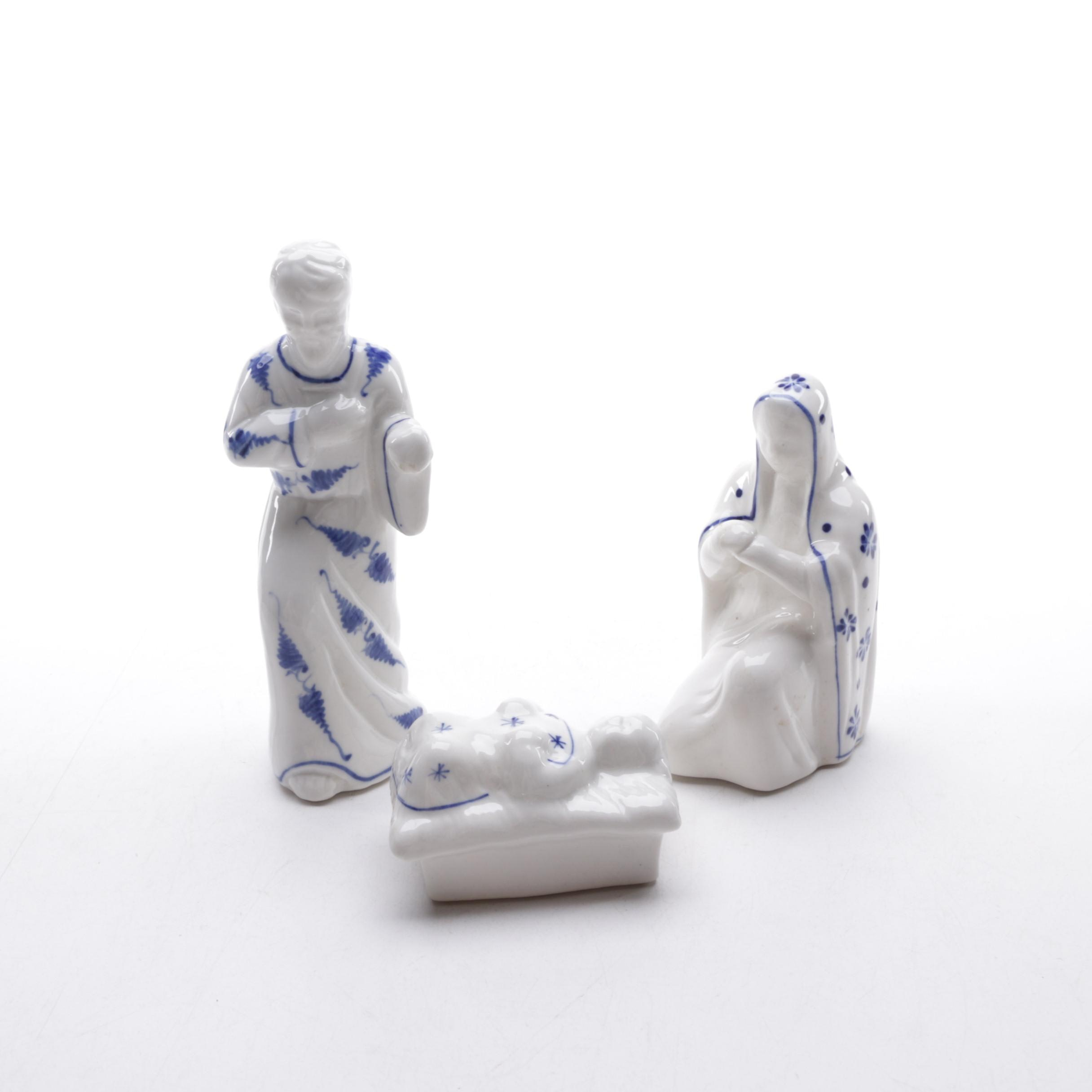 Ceramic Nativity Figurines