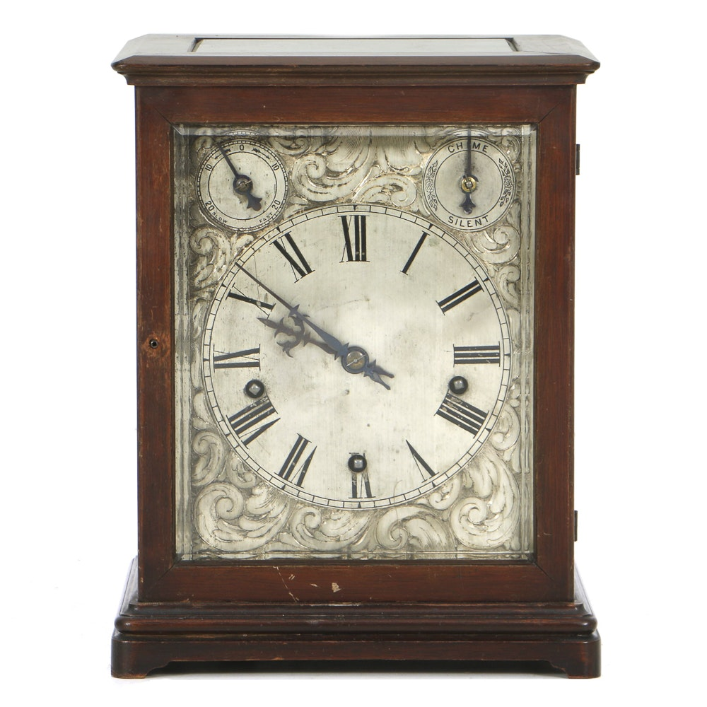 Winterhalder and hofmeier mantel clocks
